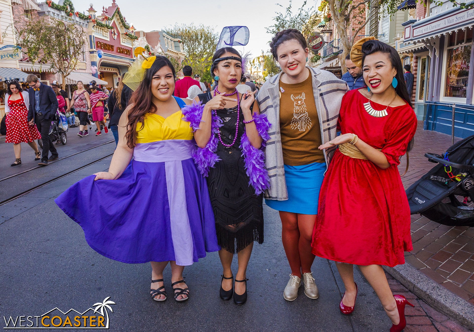 Their friend,   Monica   (left) completed their group, and they found another  Emperor's New Groove  inspiree!