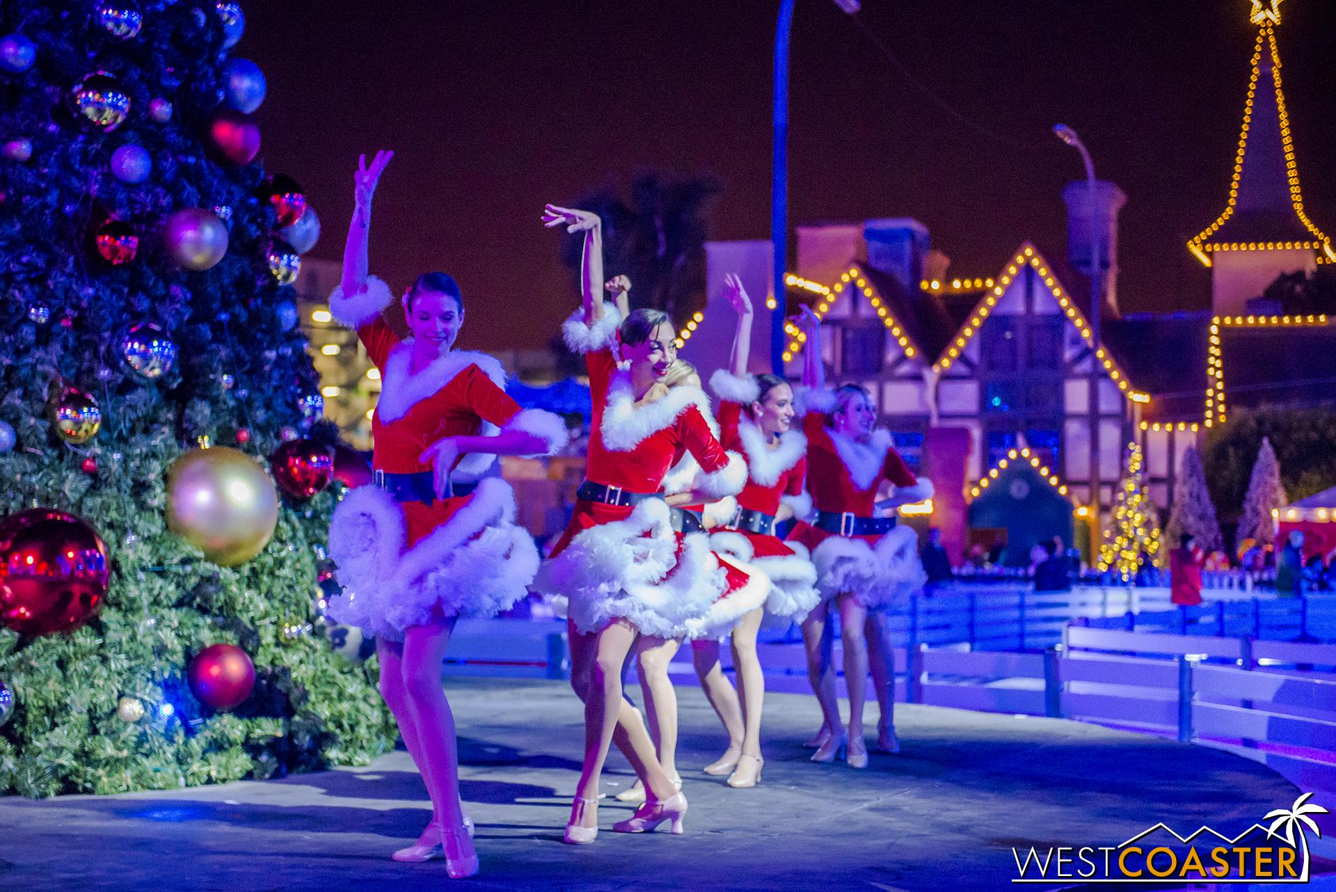 They celebrate the jingle holiday season.
