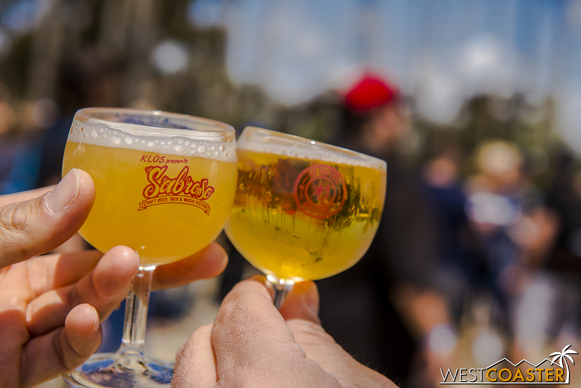 Free beer tastings were available starting at noon for VIP guests and 1:00pm for general admission guests until 4:00pm.
