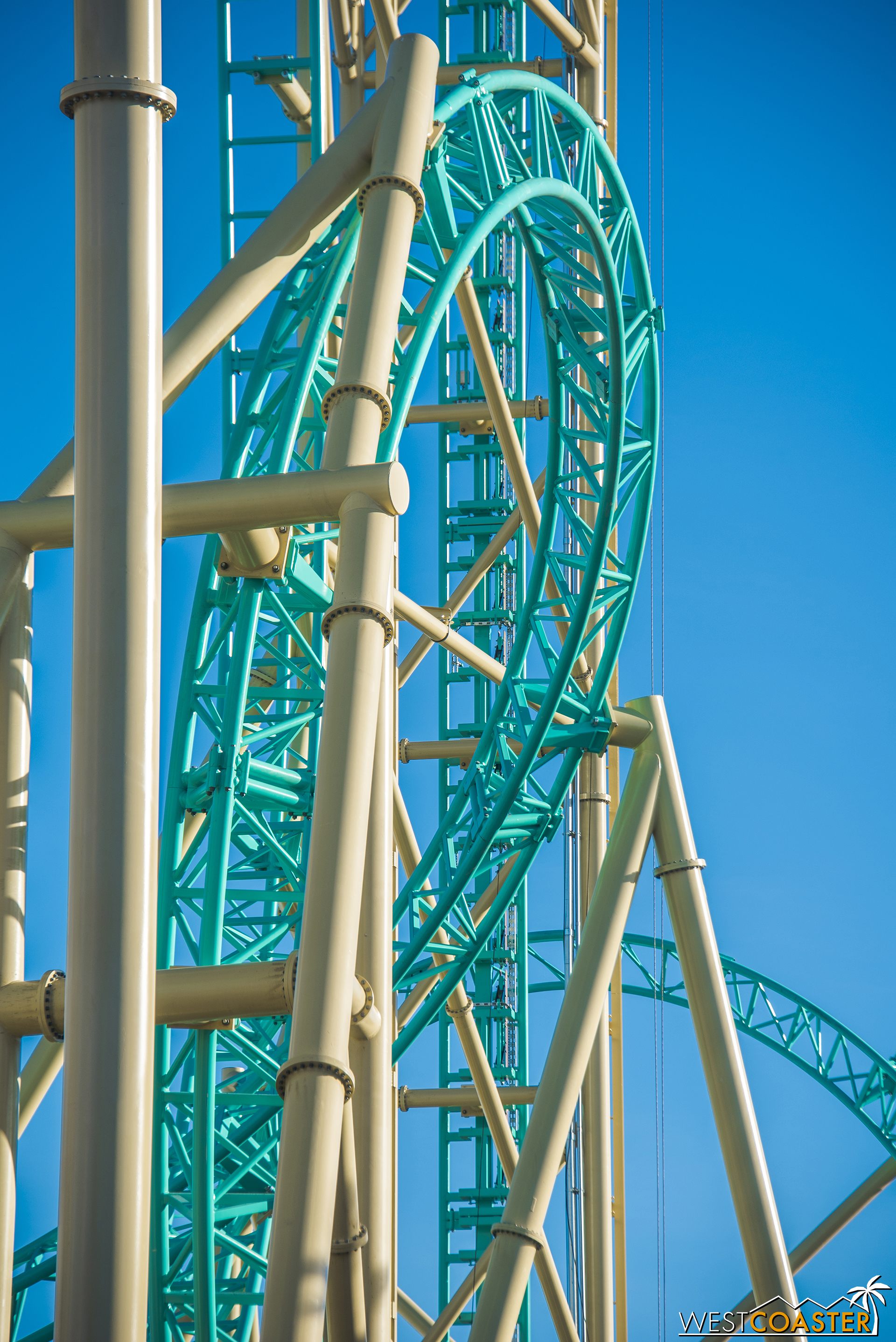 There will be a lot of great angles for close-up roller coaster shots with HangTime!