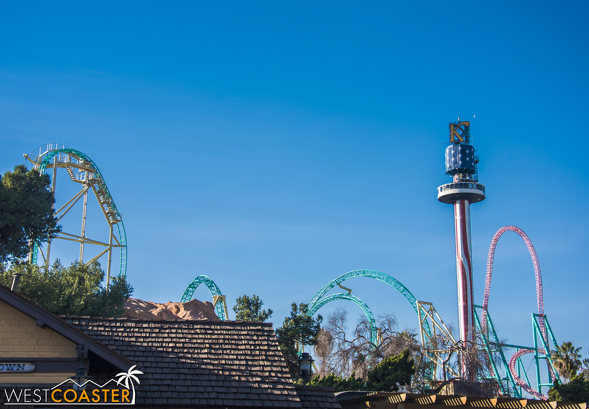 Add this to Knott's ever-progressing skyline!