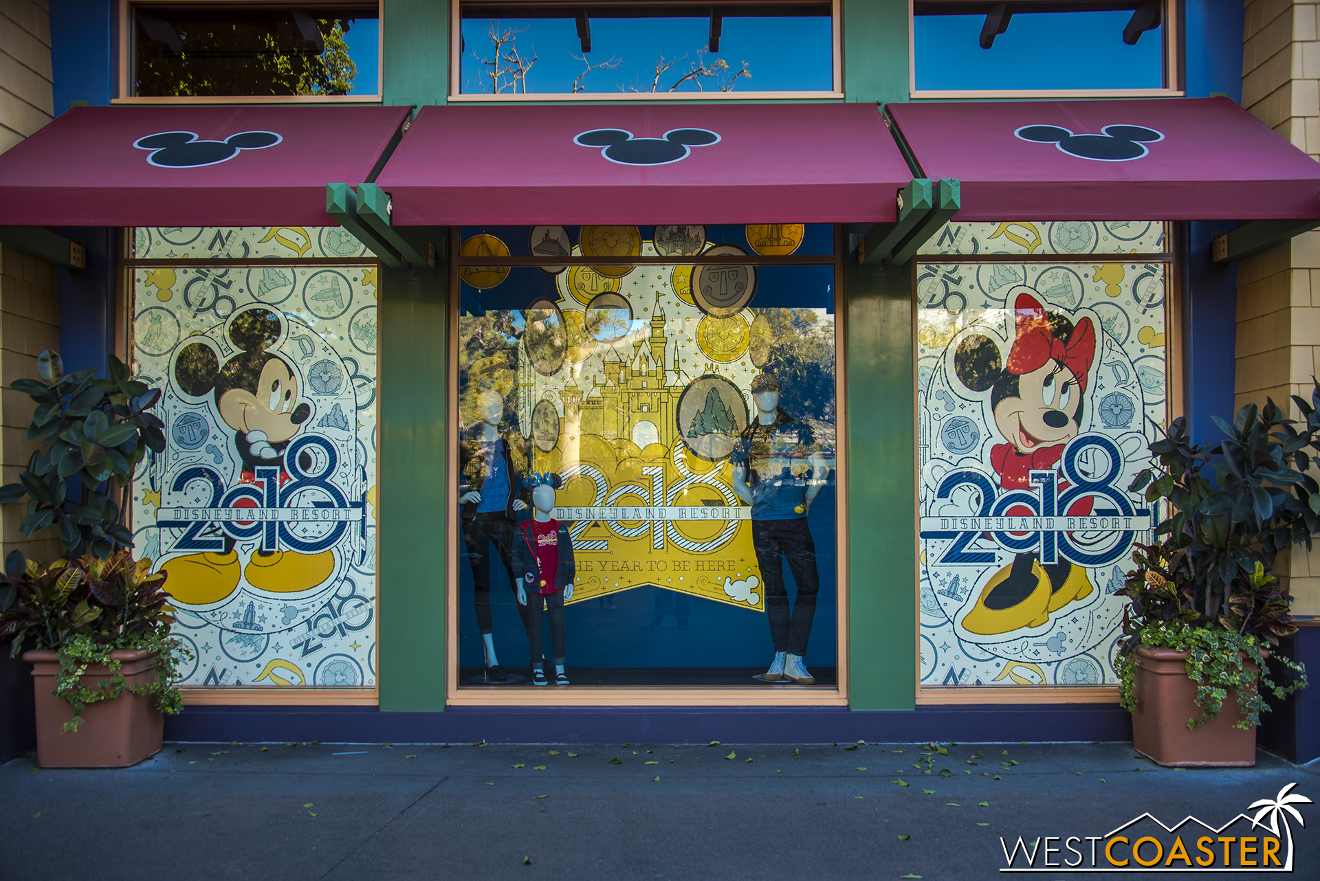 In addition, though it hasn't started yet, the World of Disney Store will be getting a multi-stage modernization to freshen up the store.