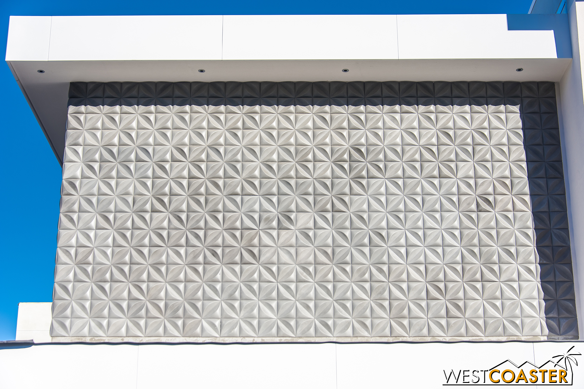 For example, this textured wall.