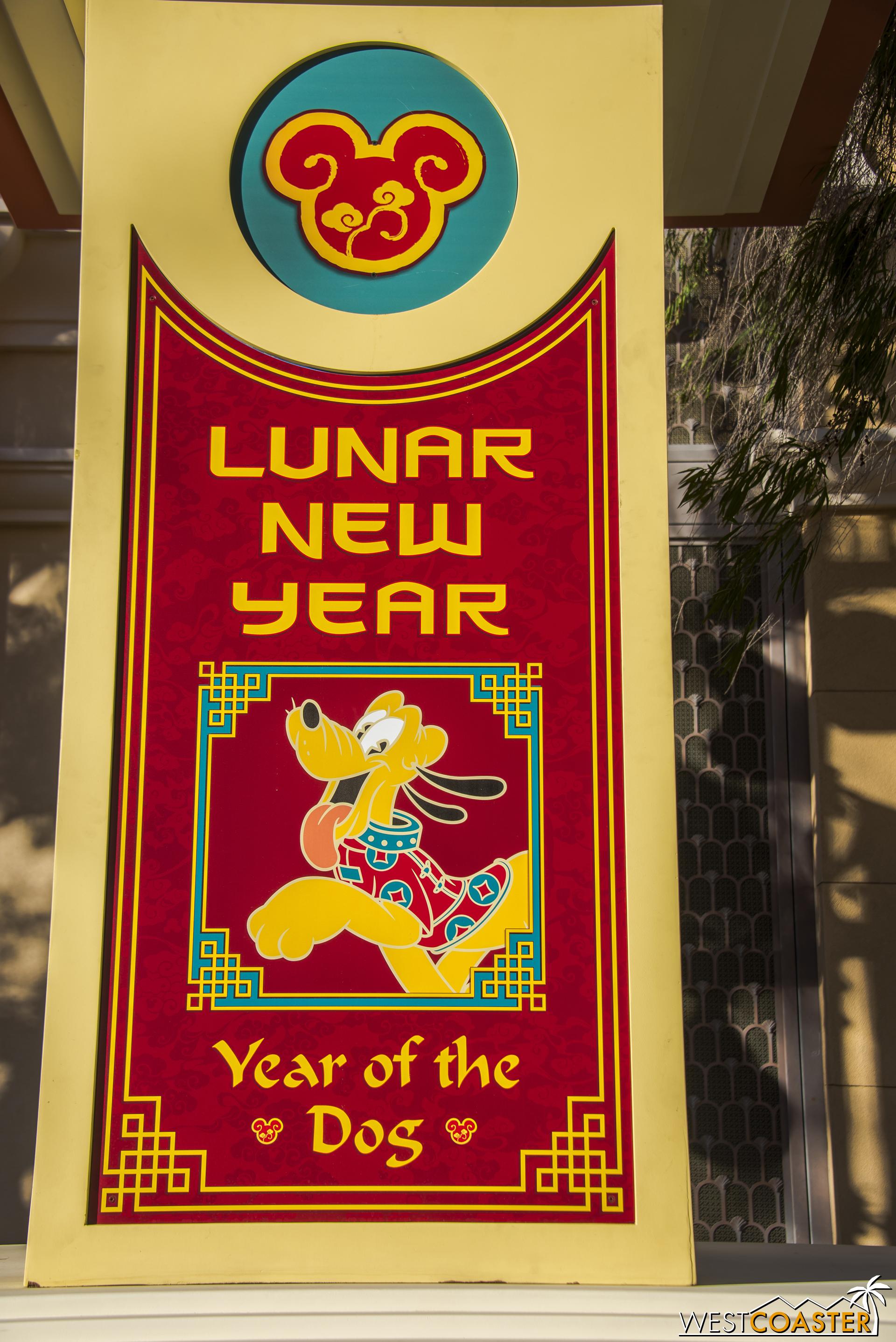 Pluto is so happy it's his year!