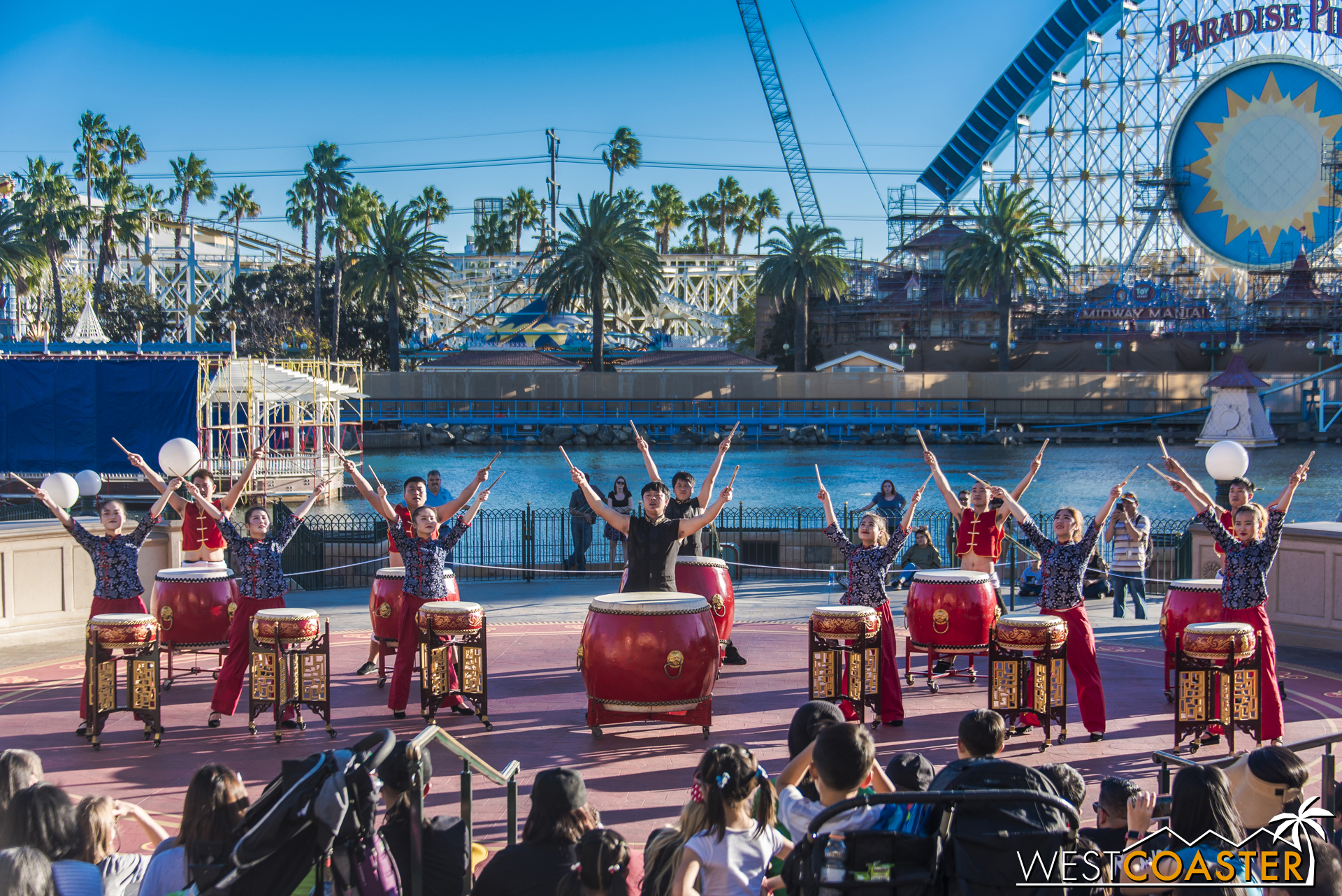 It's a great show and definitely recommended for all guests of the Lunar New Year celebration.