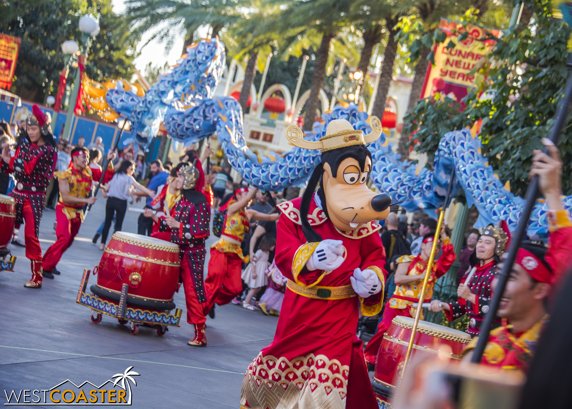 Mulan's New Year Procession is a dash of zip and energy.