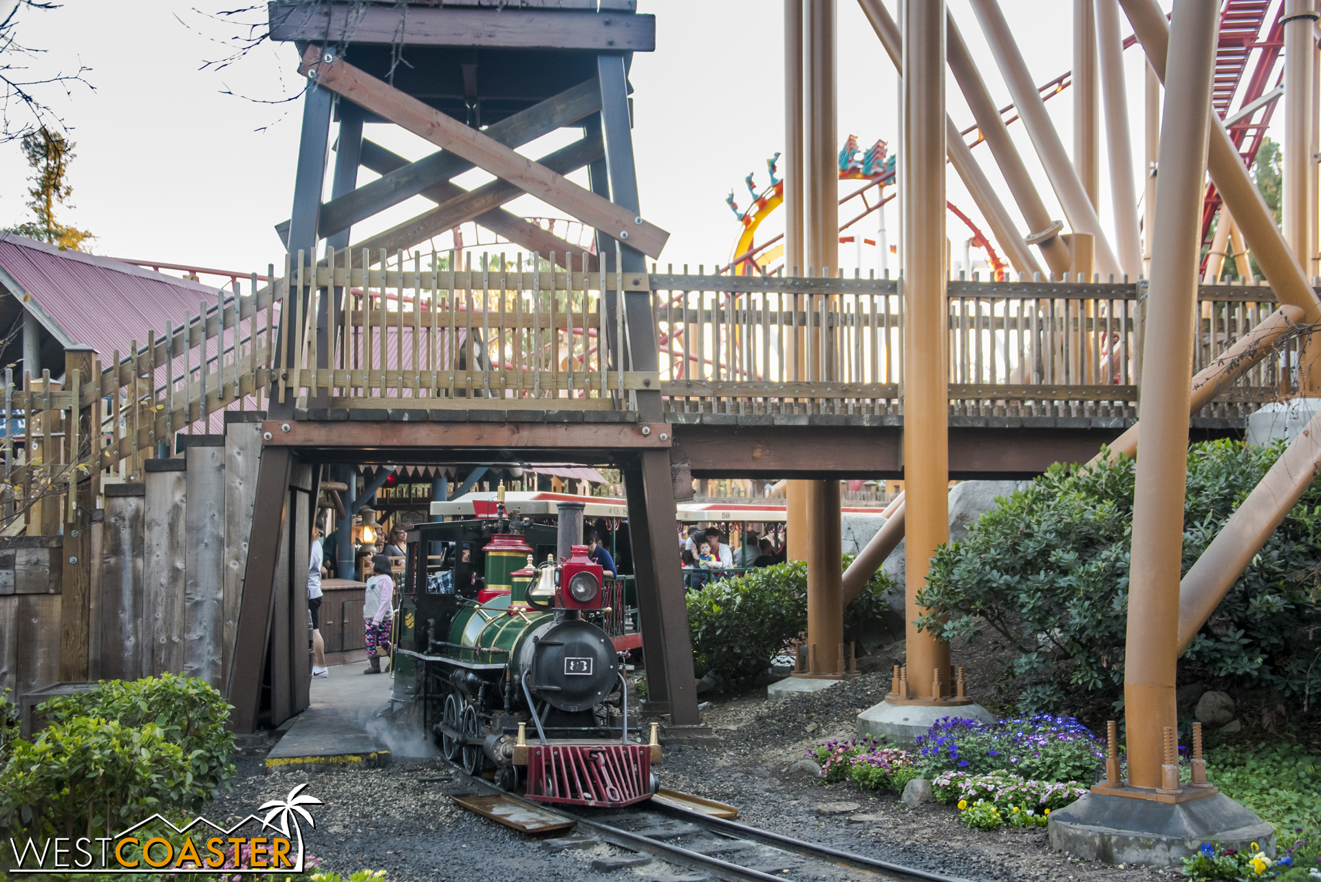 The Grand Sierra Railroad has received an overhaul for the Peanuts Celebration.