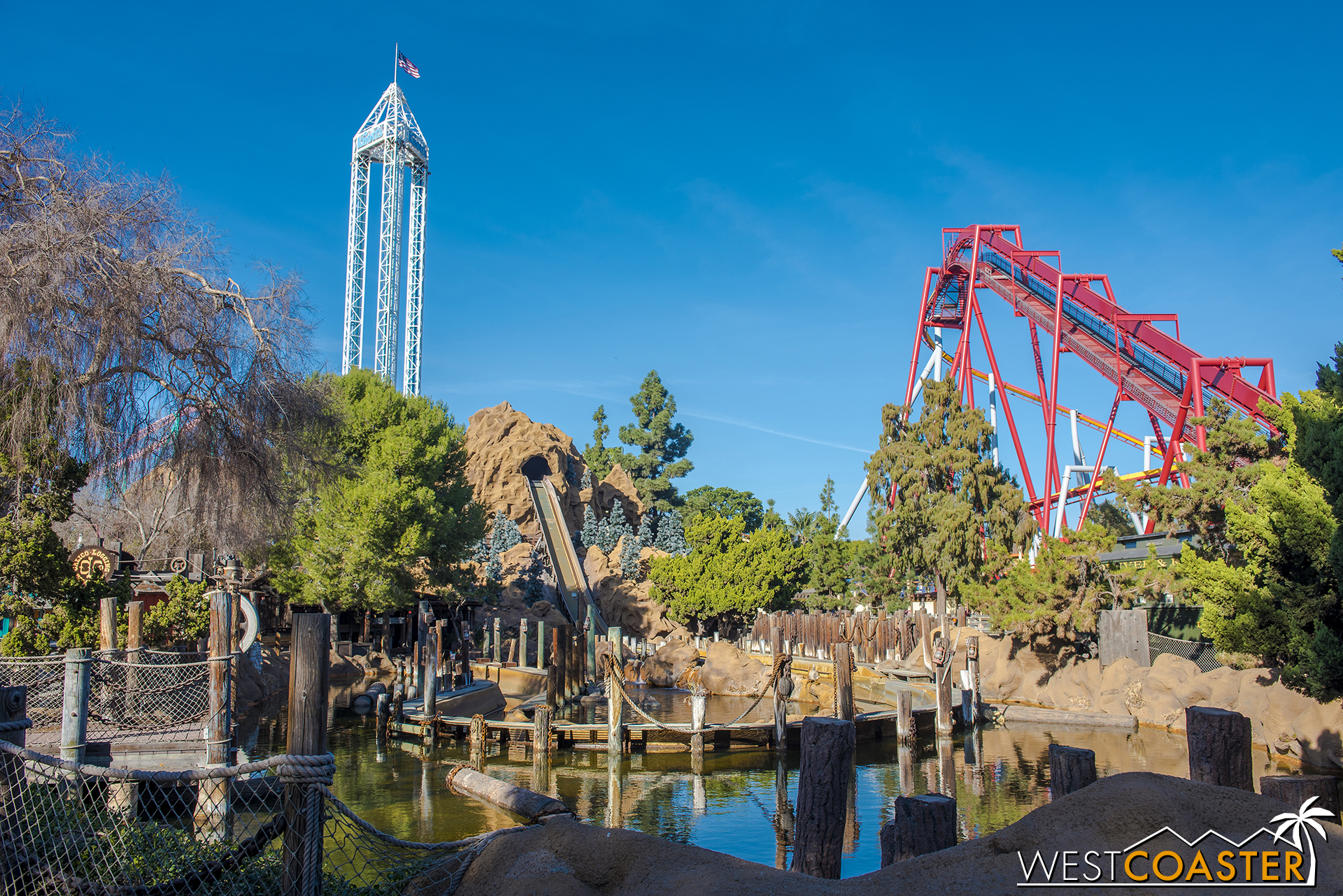 Log Ride and Splash Mountain have gone south for the winter.