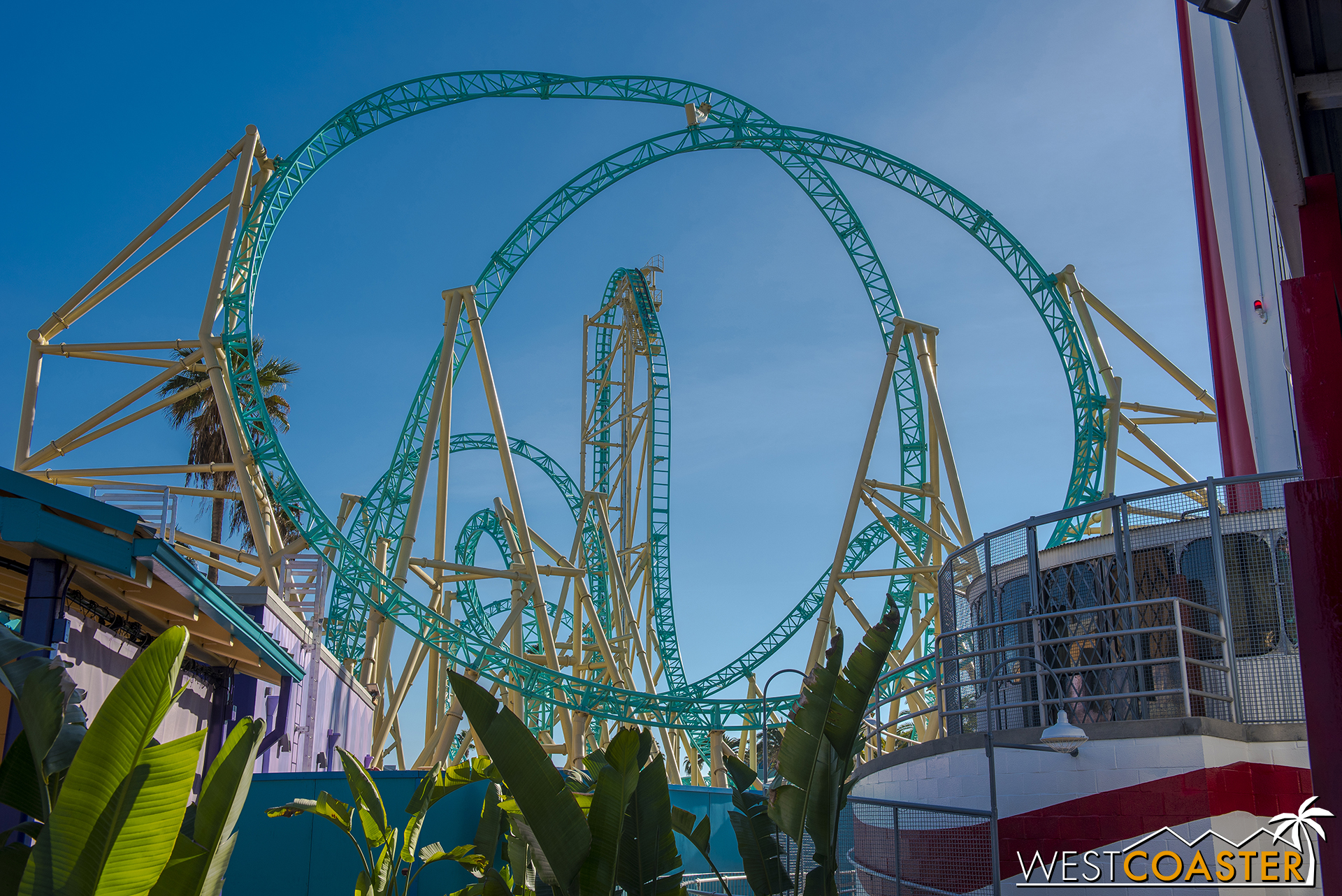 The ride is photogenic from different angles.