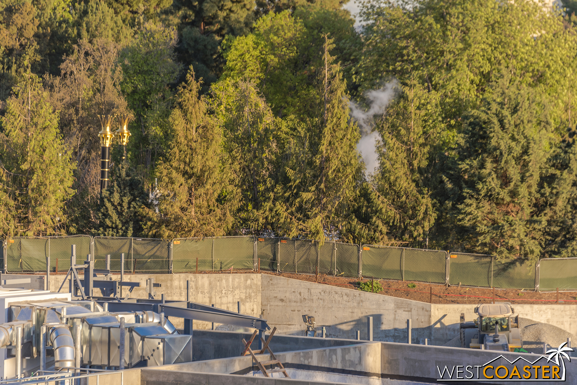 At some point, they're bound to start work on the Rivers of America side of Star Wars: Galaxy's Edge.