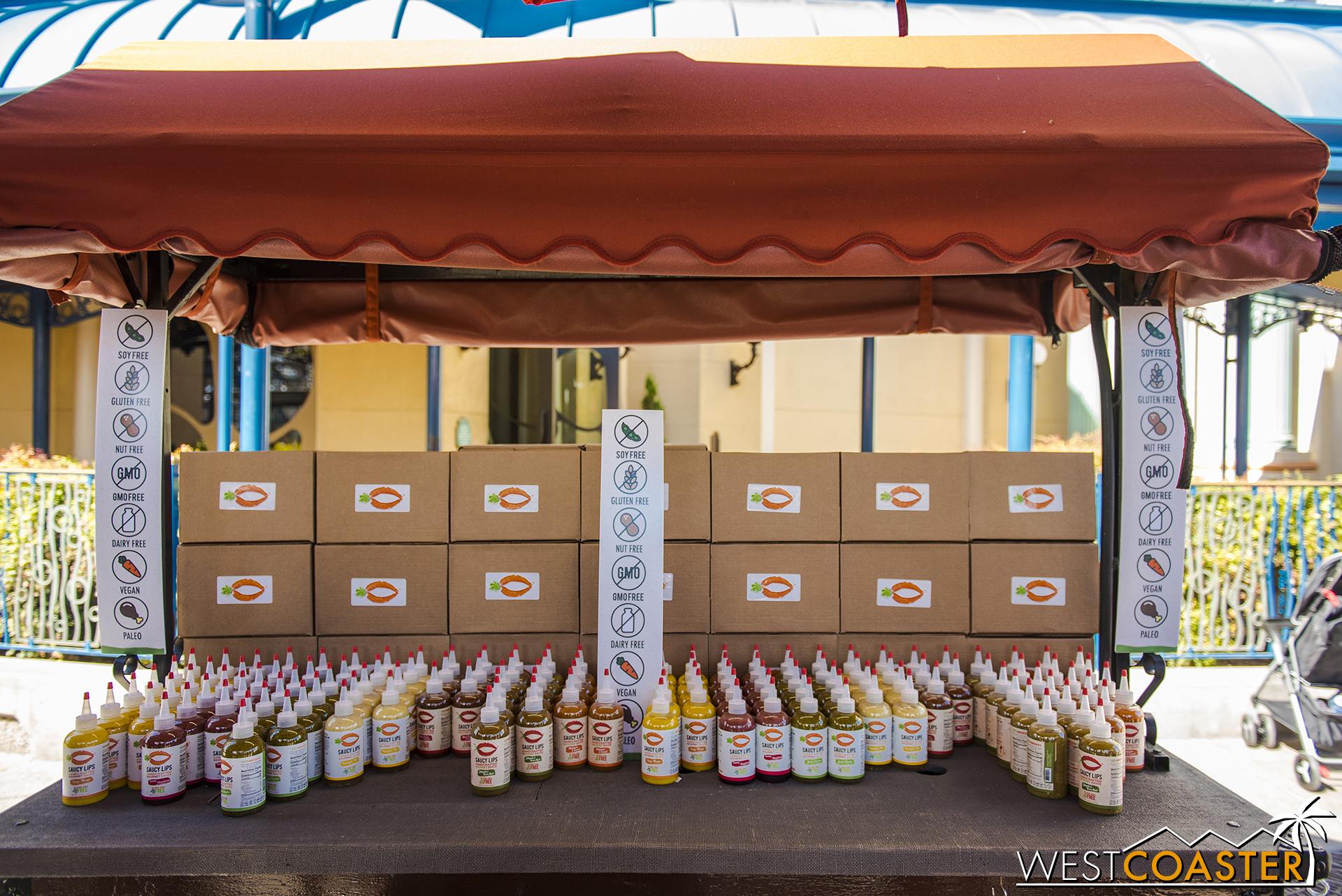 Regular guests will notice plenty of returning vendors.