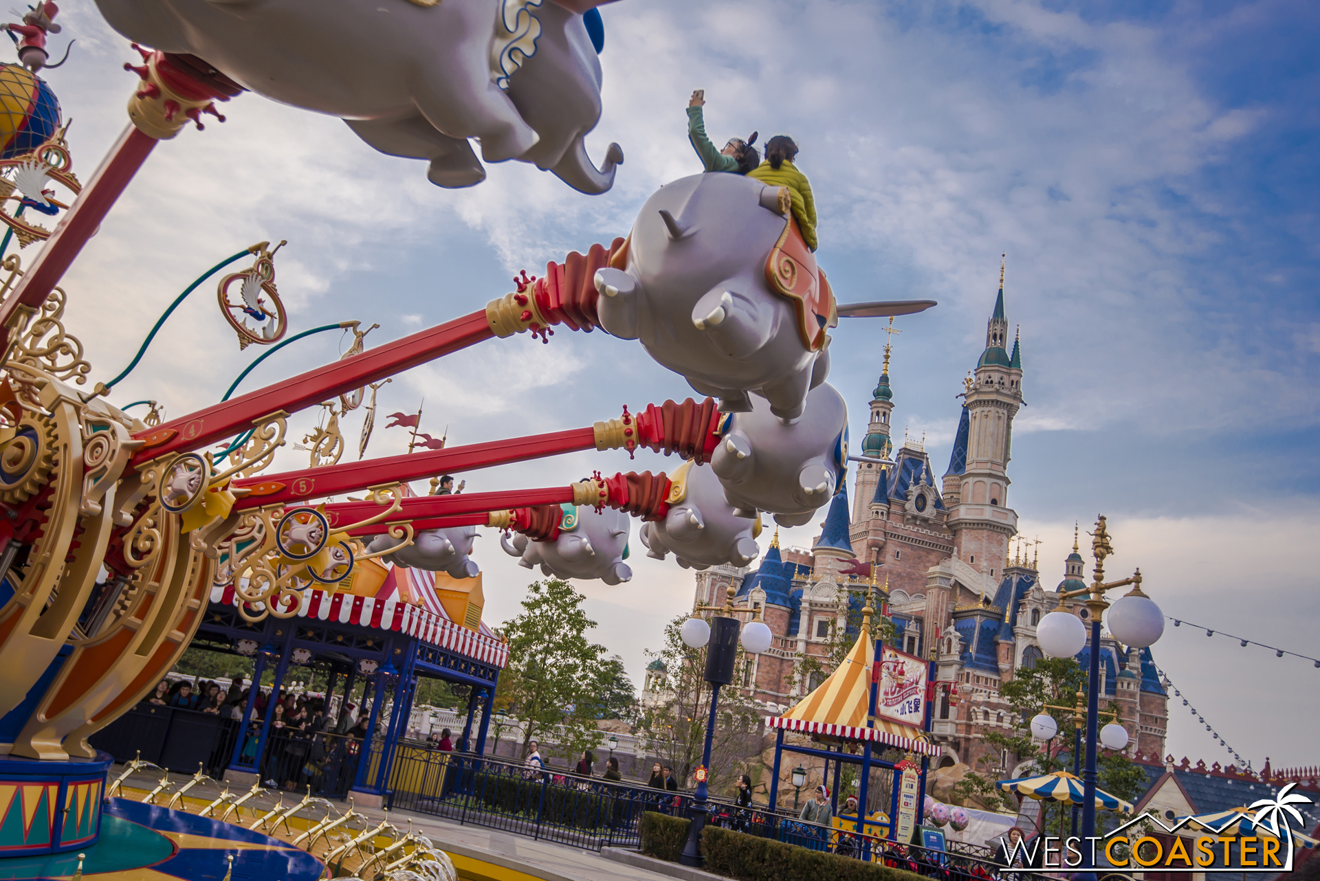 It offers the same thrill of flight to children as its international brethren.