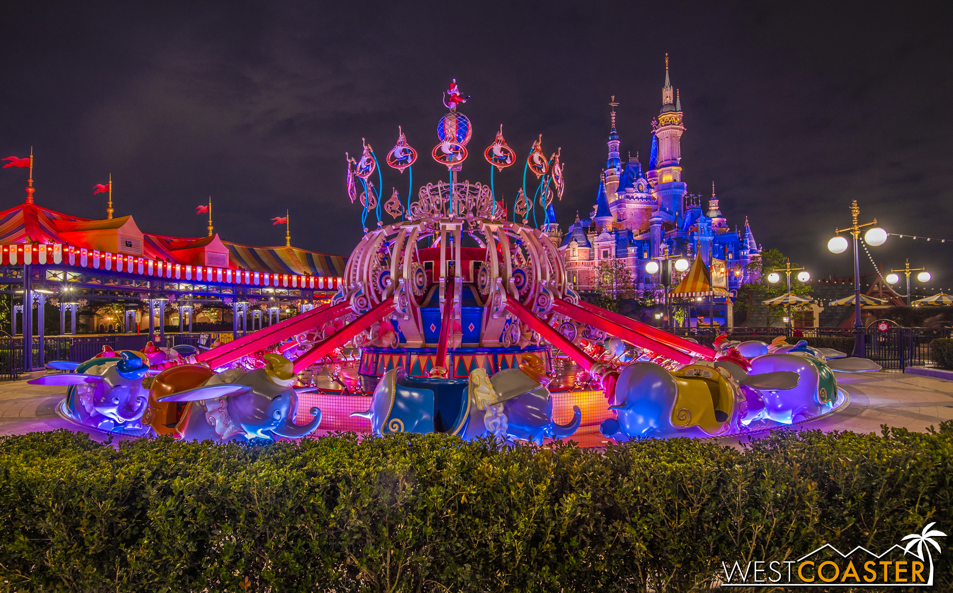 And it occupies a photogenic spot beside the Enchanted Storybook Castle!