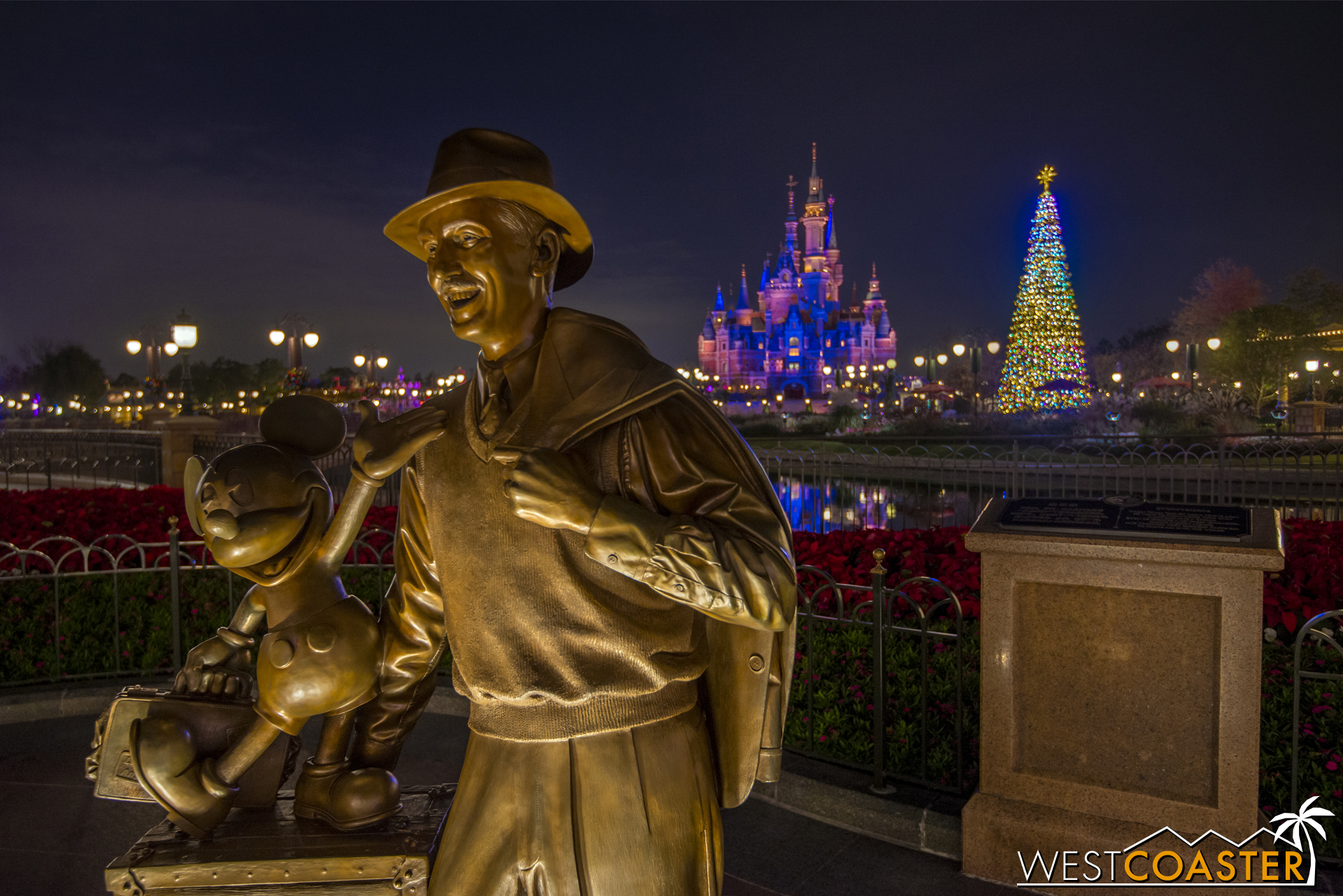 Frequent visitors of Disney California Adventure may find this statue familiar at Shanghai Disneyland.