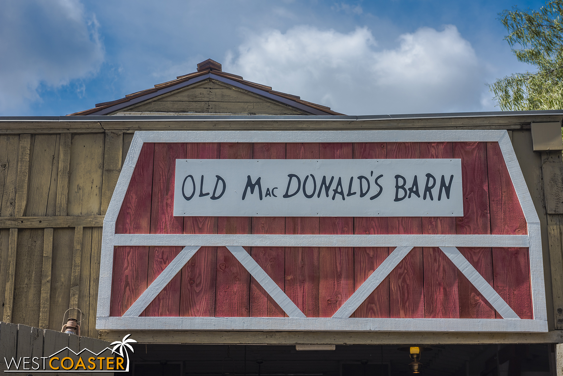 Oh, that's whose farm it is.