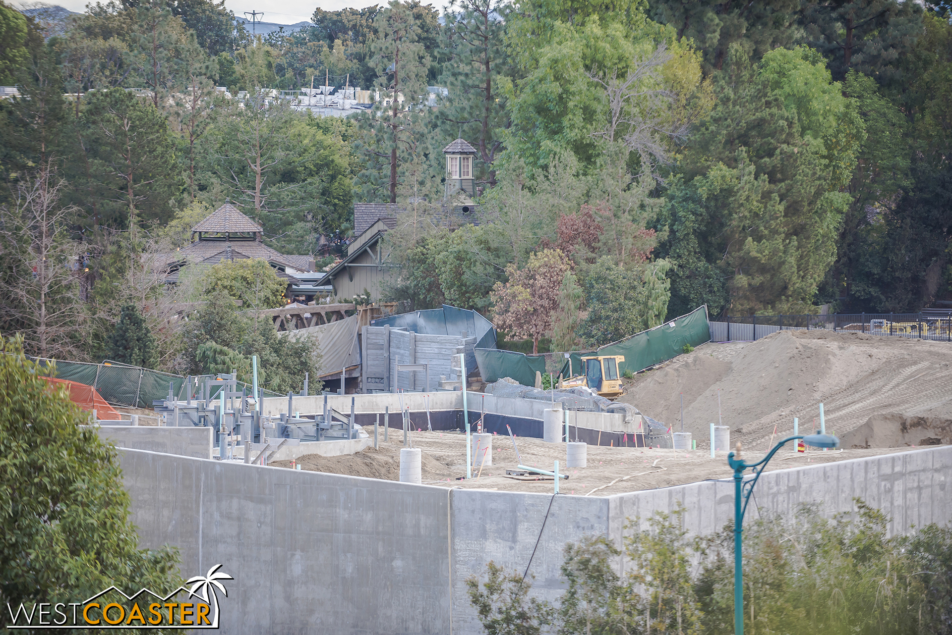 Looking toward the Critter Country entrance.