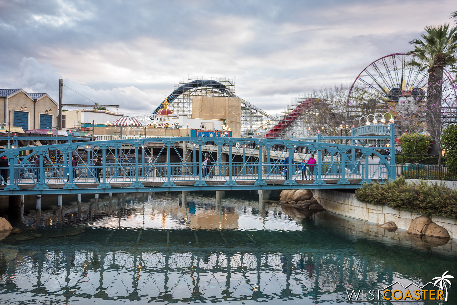 It's a glimpse of Pixar Pier!