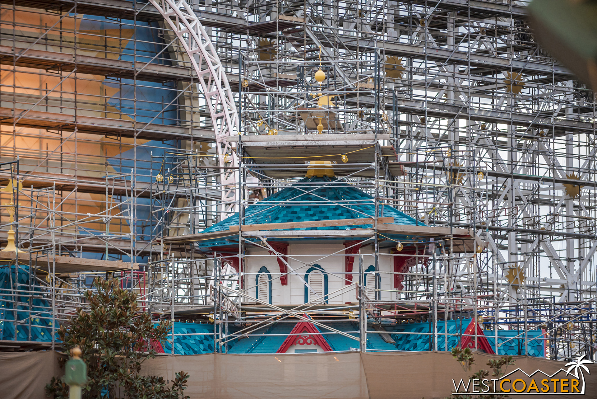 The new paint job on Midway Mania looks great, though!