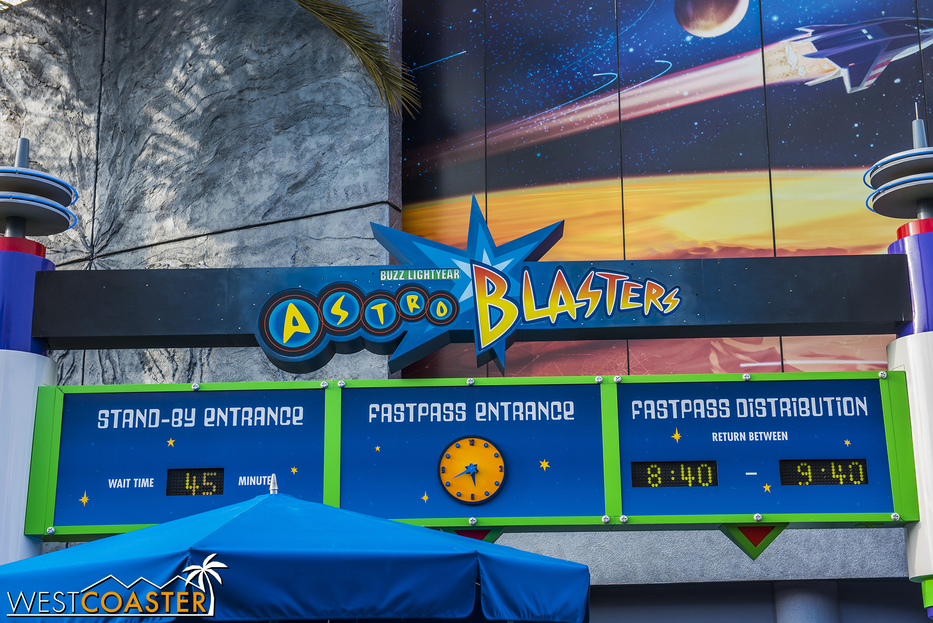I do enjoy Astro Blasters a lot, but geez, 45 minutes?? This isn't Midway Mania, folks.