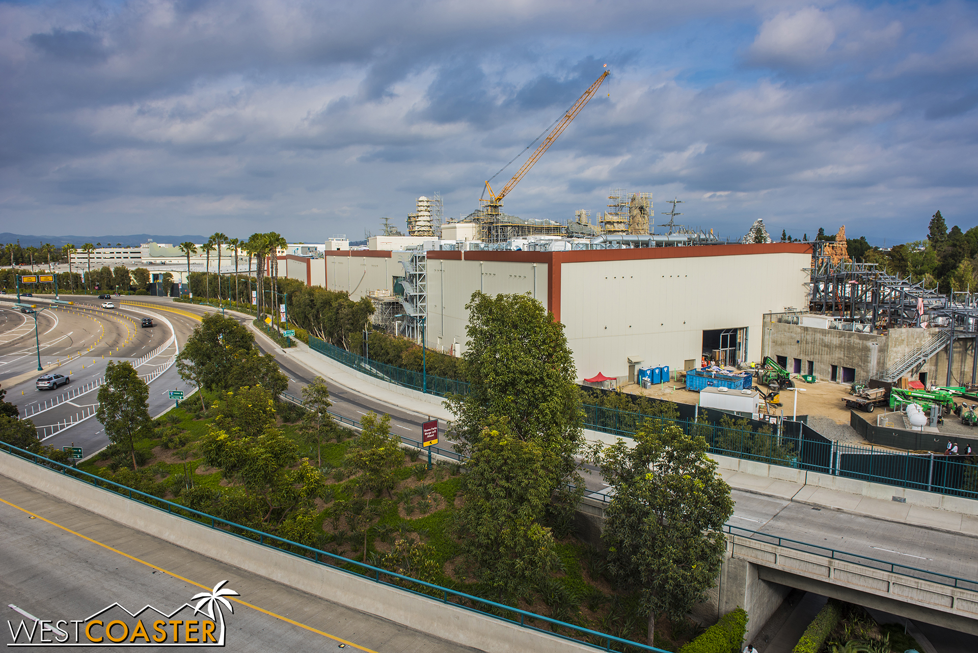 ...because this time around, as we pan across, you'll end up being able to see more than one Resort construction project!