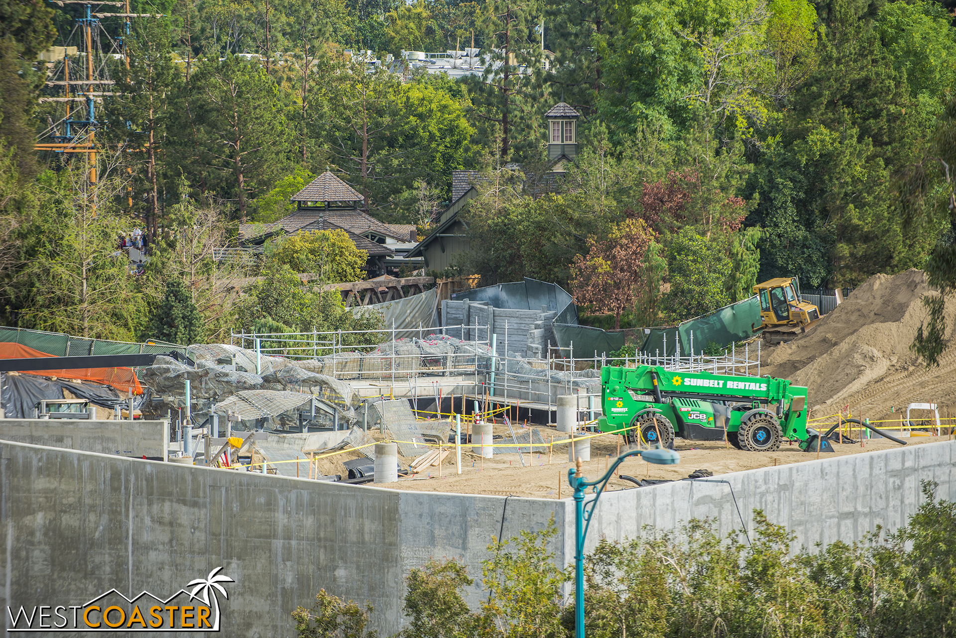 Progress on the Critter Country end remains relatively slow to the public eye.