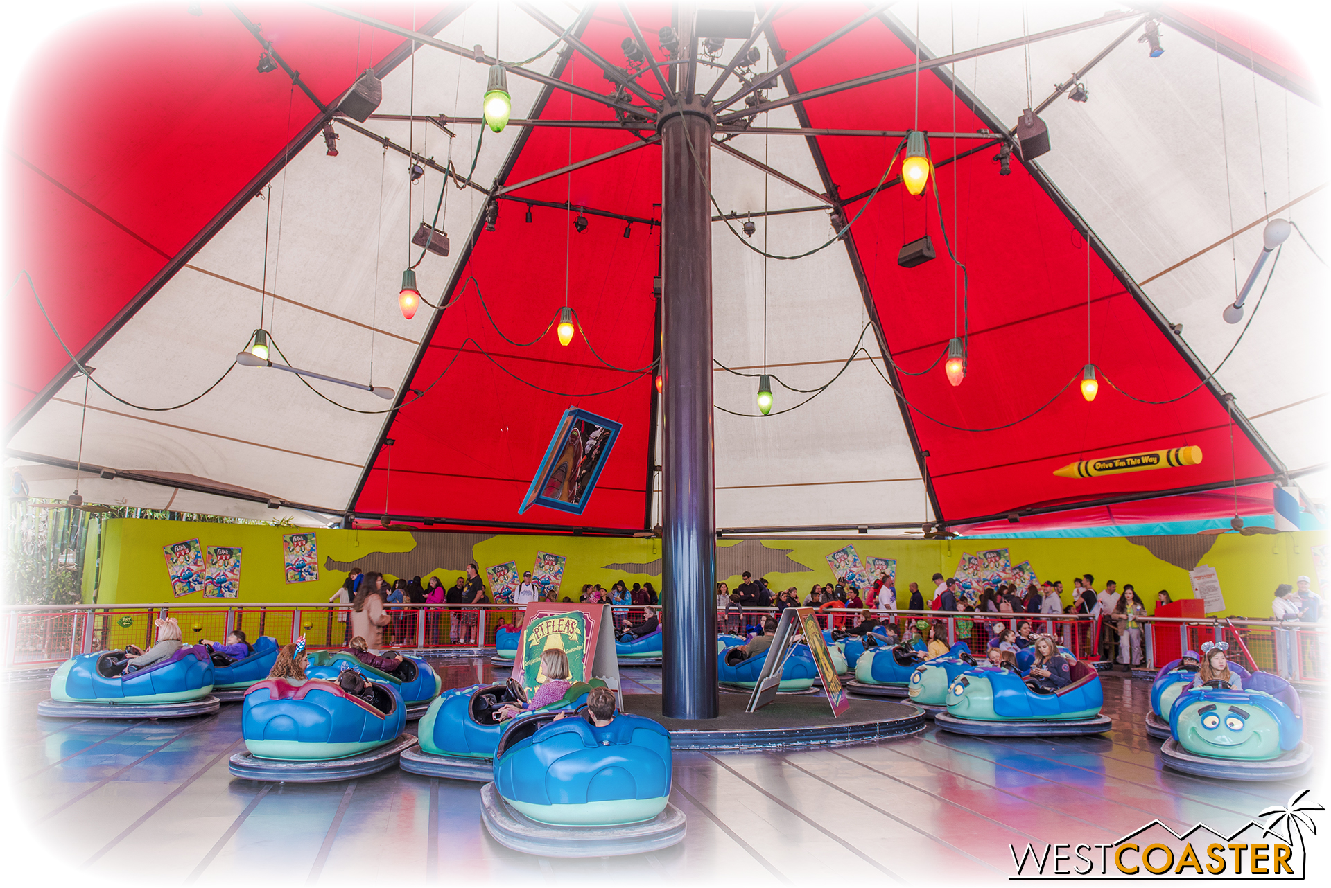 Farewell, extremely tame bumper cars...