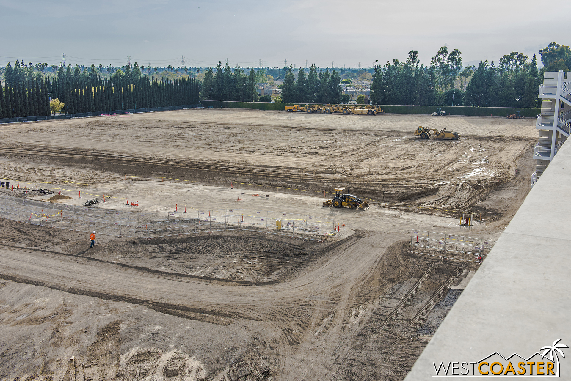 """Beyond that, what was the Pinocchio lot is definitely all soil now. But we'll still remember it by calling this future parking structure the """"Pinocchio Parking Structure"""" until Disney releases an official name for it."""