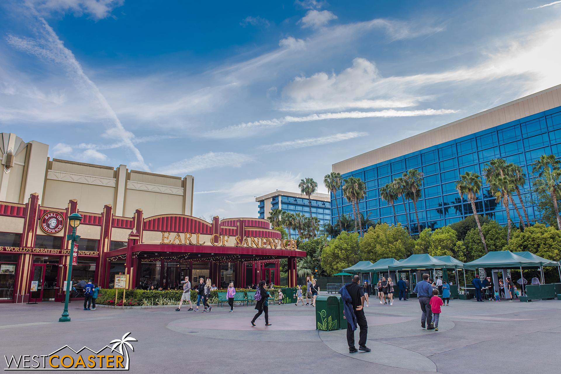 The biggest blow is that Earl of Sandwich is also leaving. But hopefully, it gets incorporated back into retail that will go into the ground floor of the new hotel.