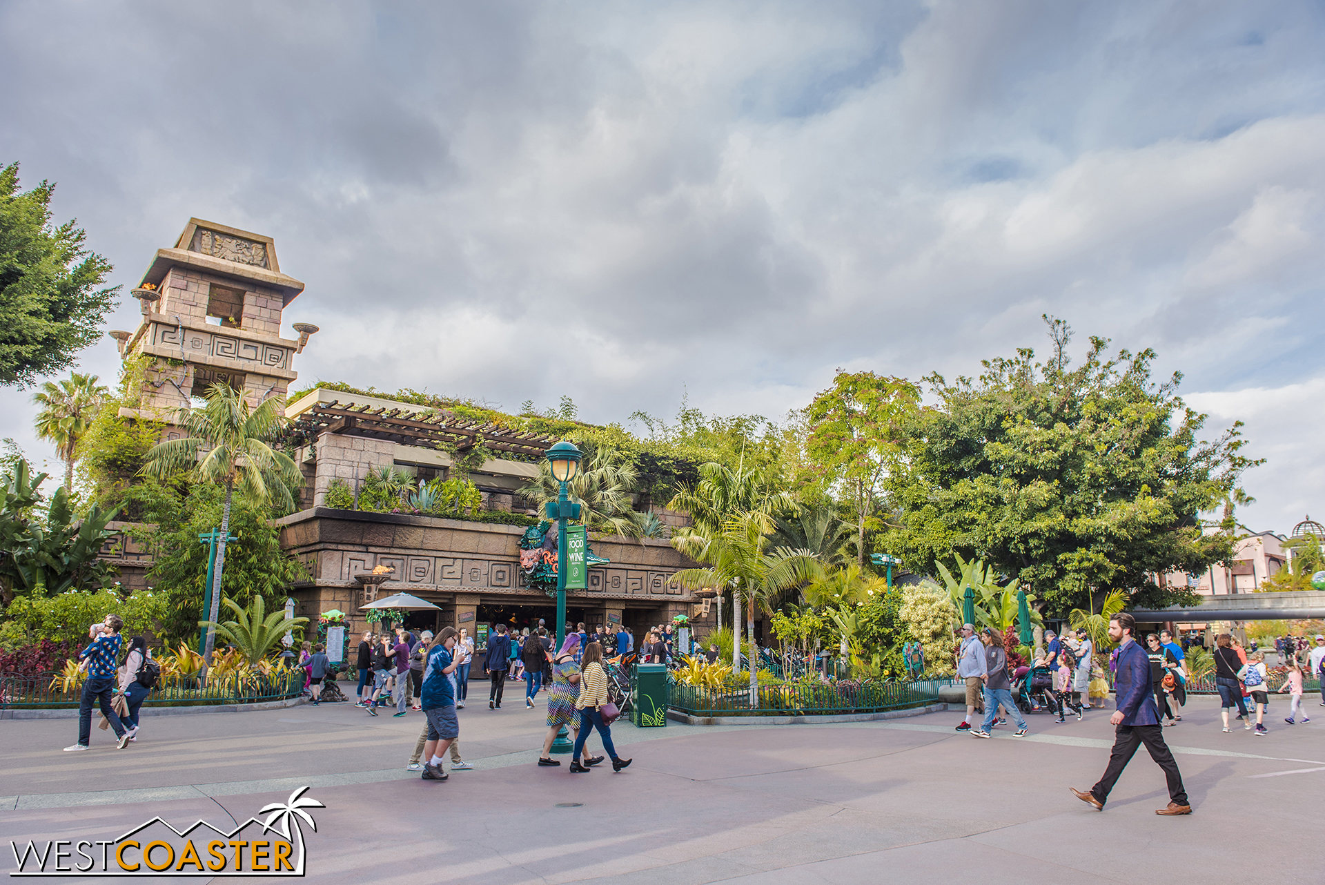 Rainforest Cafe will get razed too. It will not be missed.