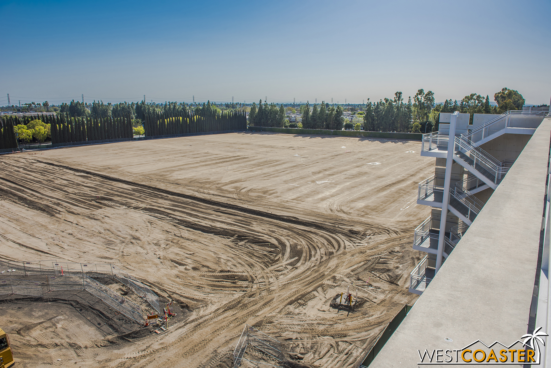 """Grading continues over at the """"Pinocchio"""" Parking Structure (or """"Pinocchio and Friends,"""" as one reader suggested, or even """"Mickey and Friends and Friends,"""" as another offered)."""