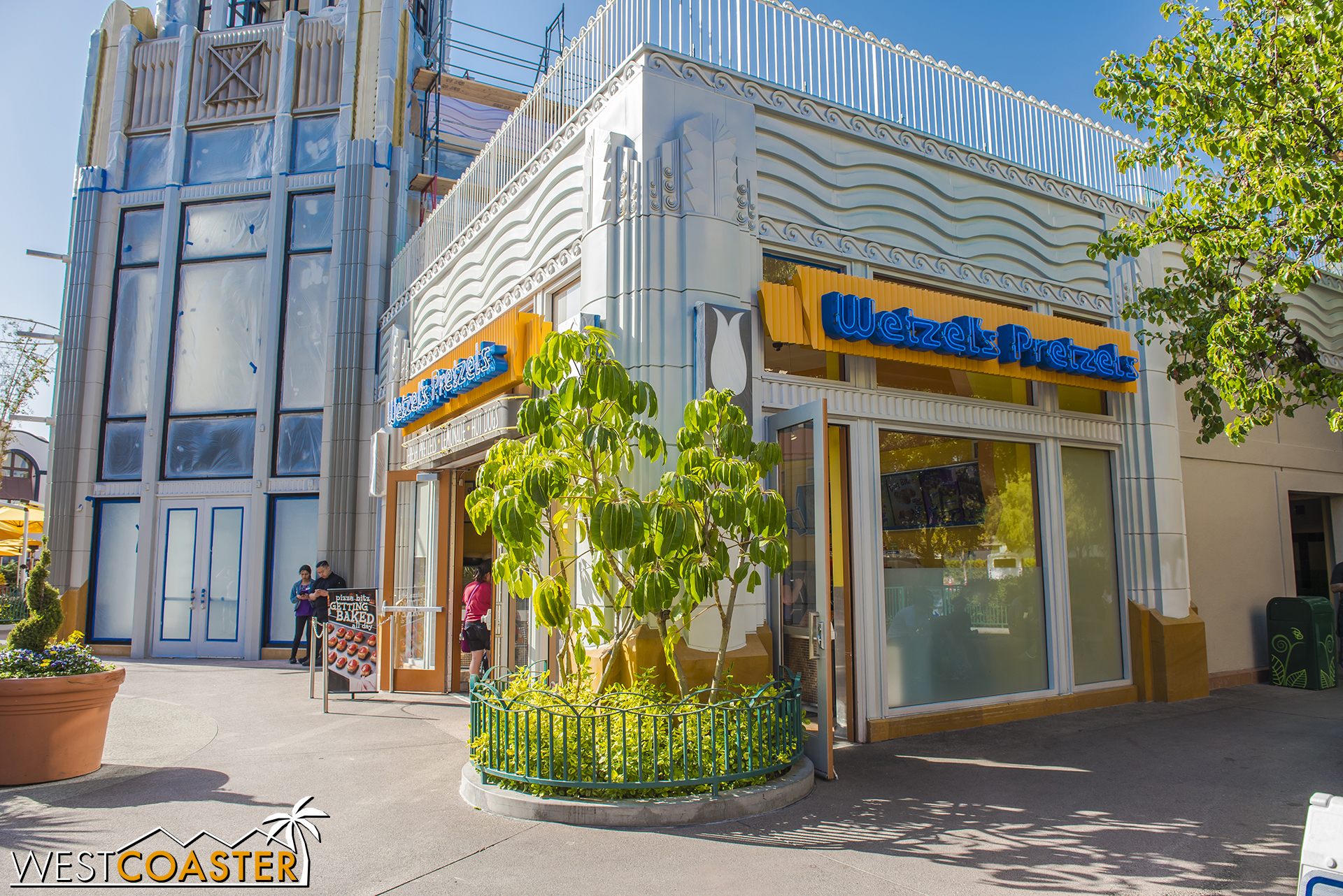 Wetzel's is getting the treatment too.