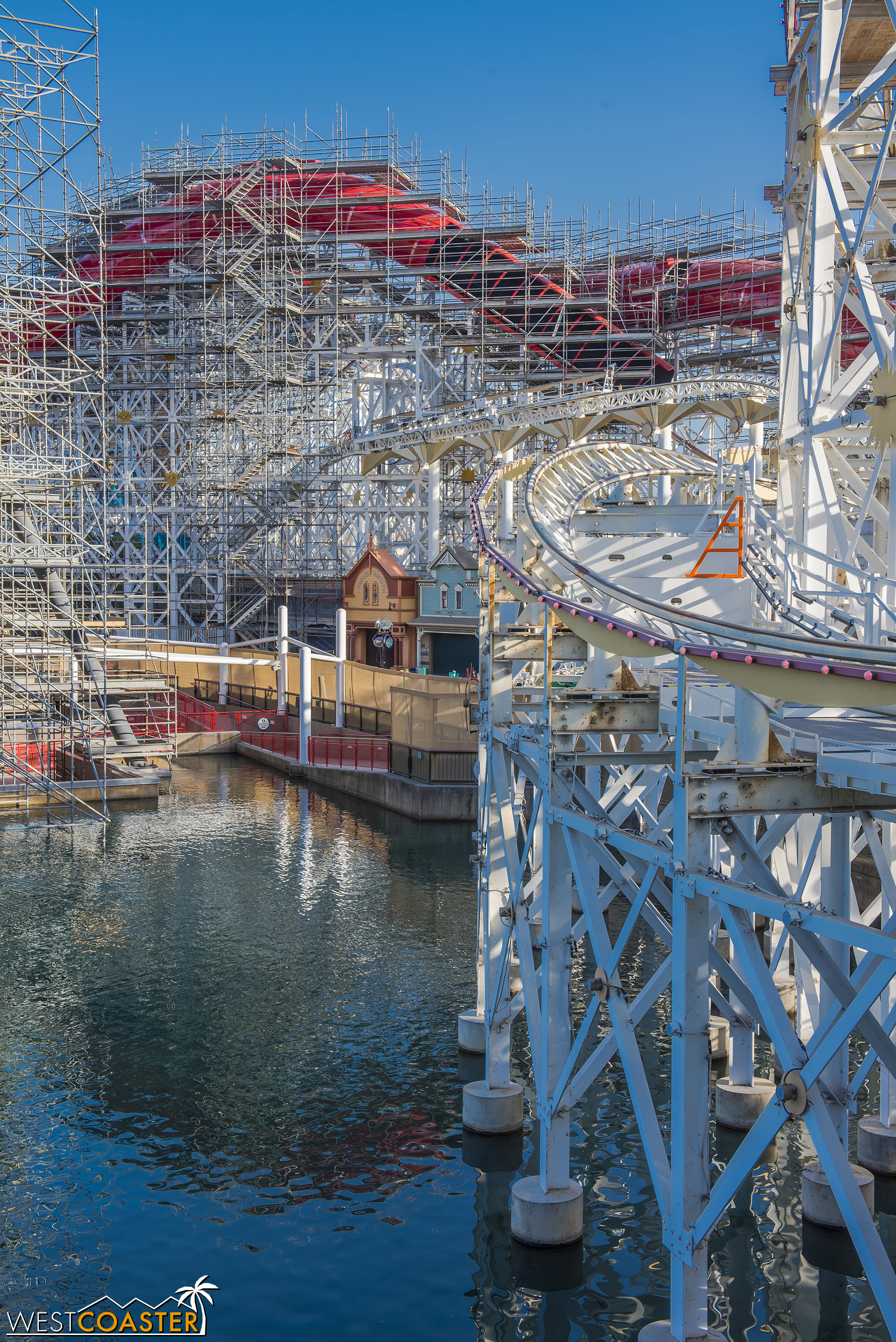 The Incredicoaster is coming along.
