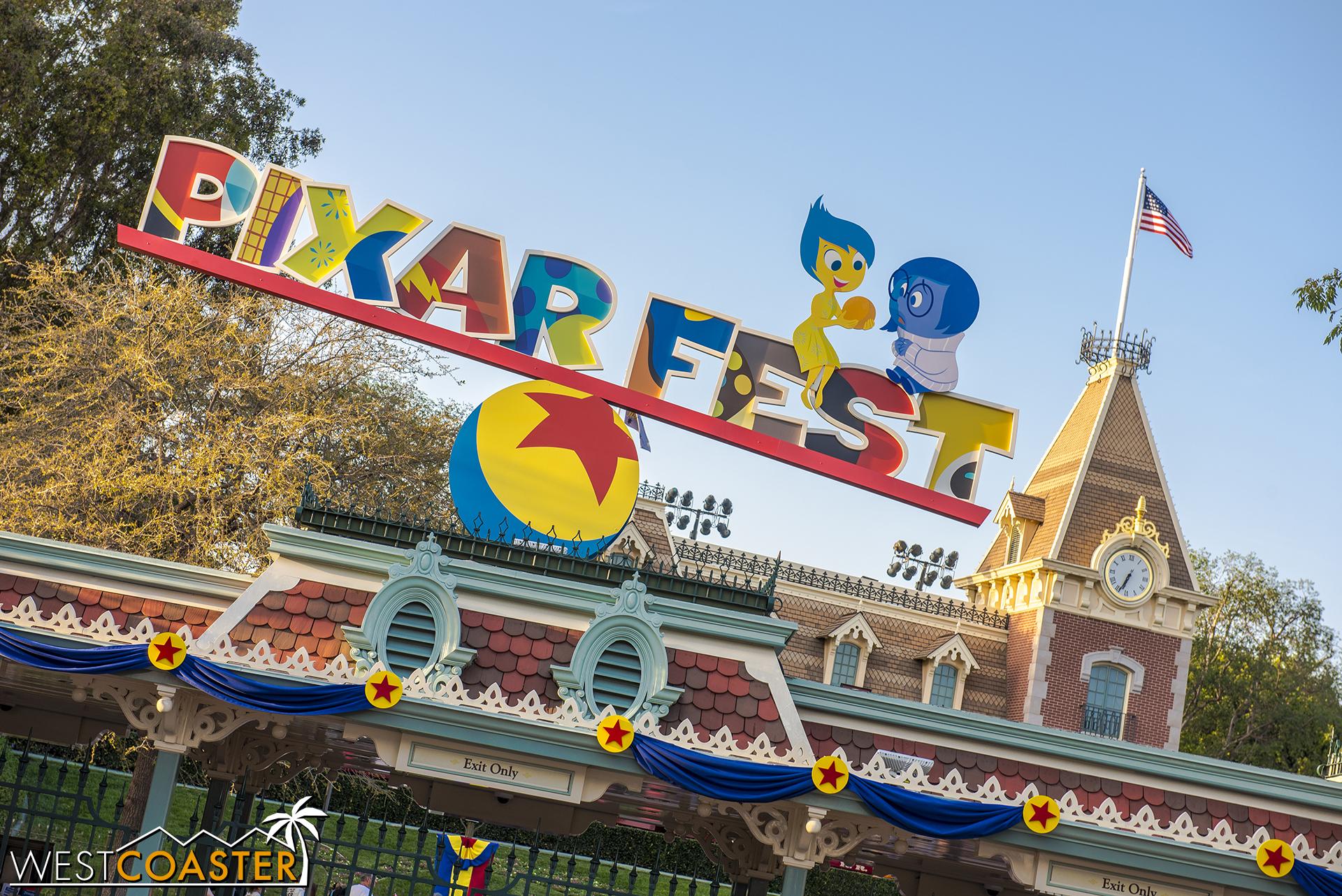 Across the way to Disneyland Park…