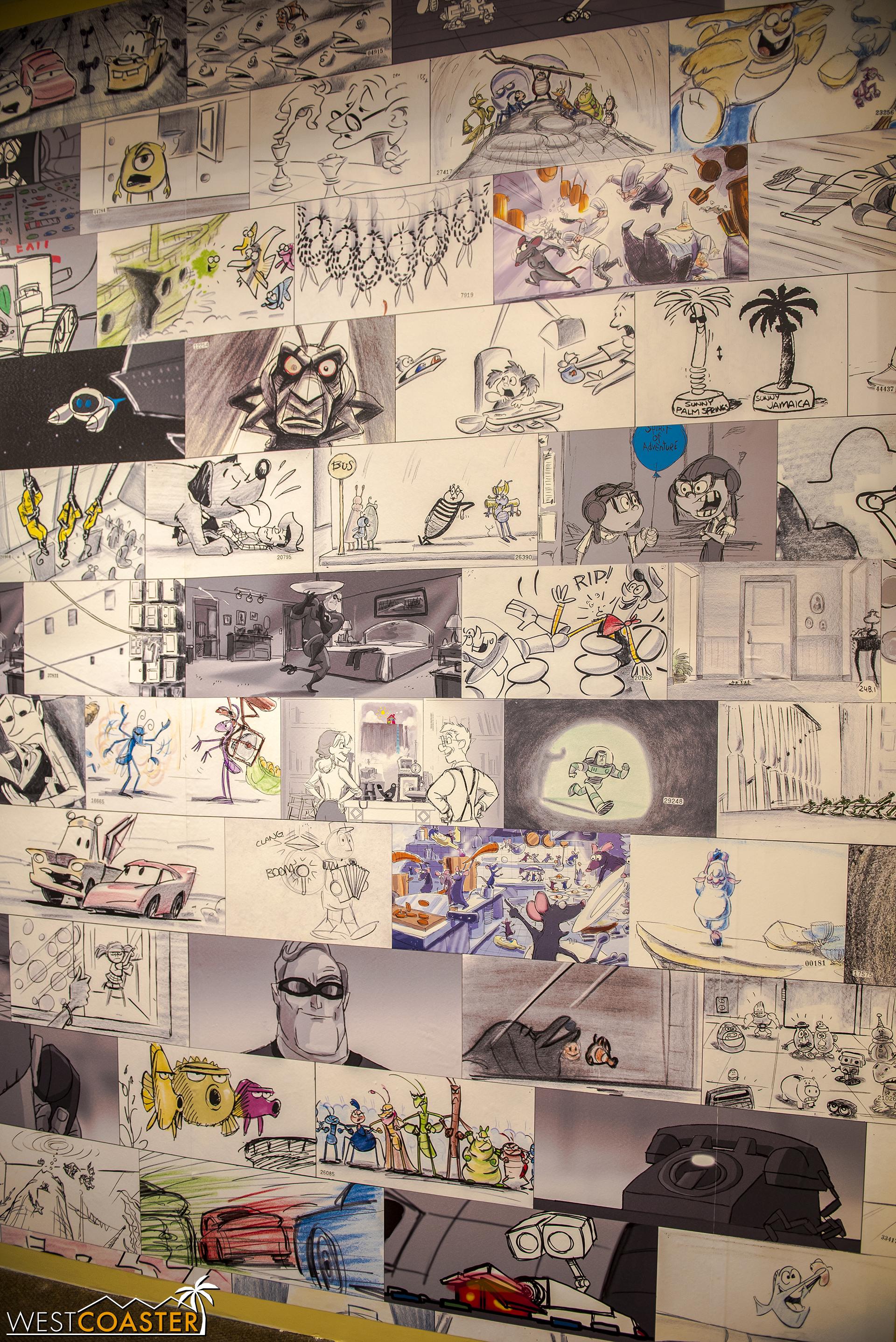 Speaking knick knacks, here's a look inside the new Knick's Knacks store at soon-to-be Pixar Pier.