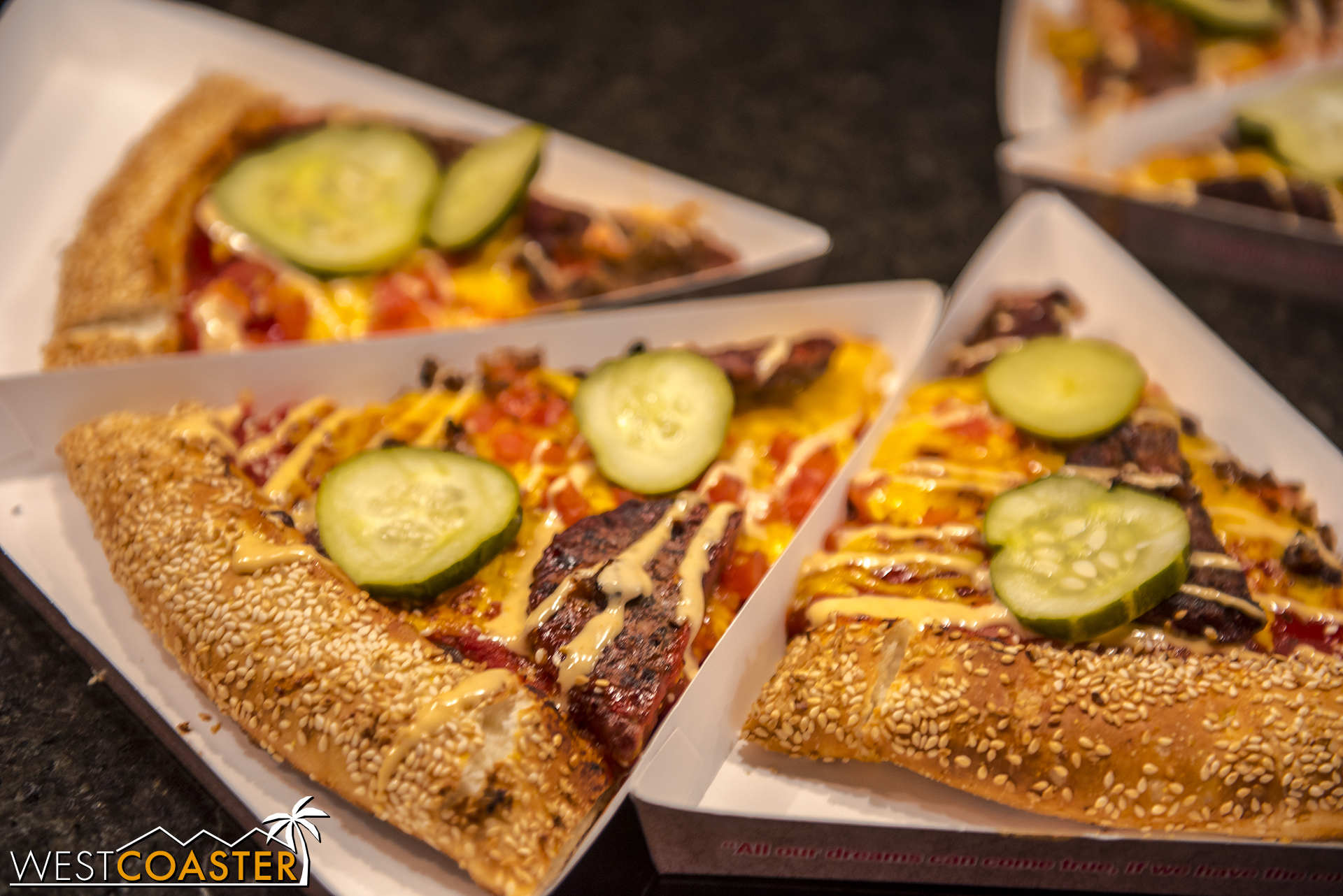 There's also a Cheeseburger Pizza.