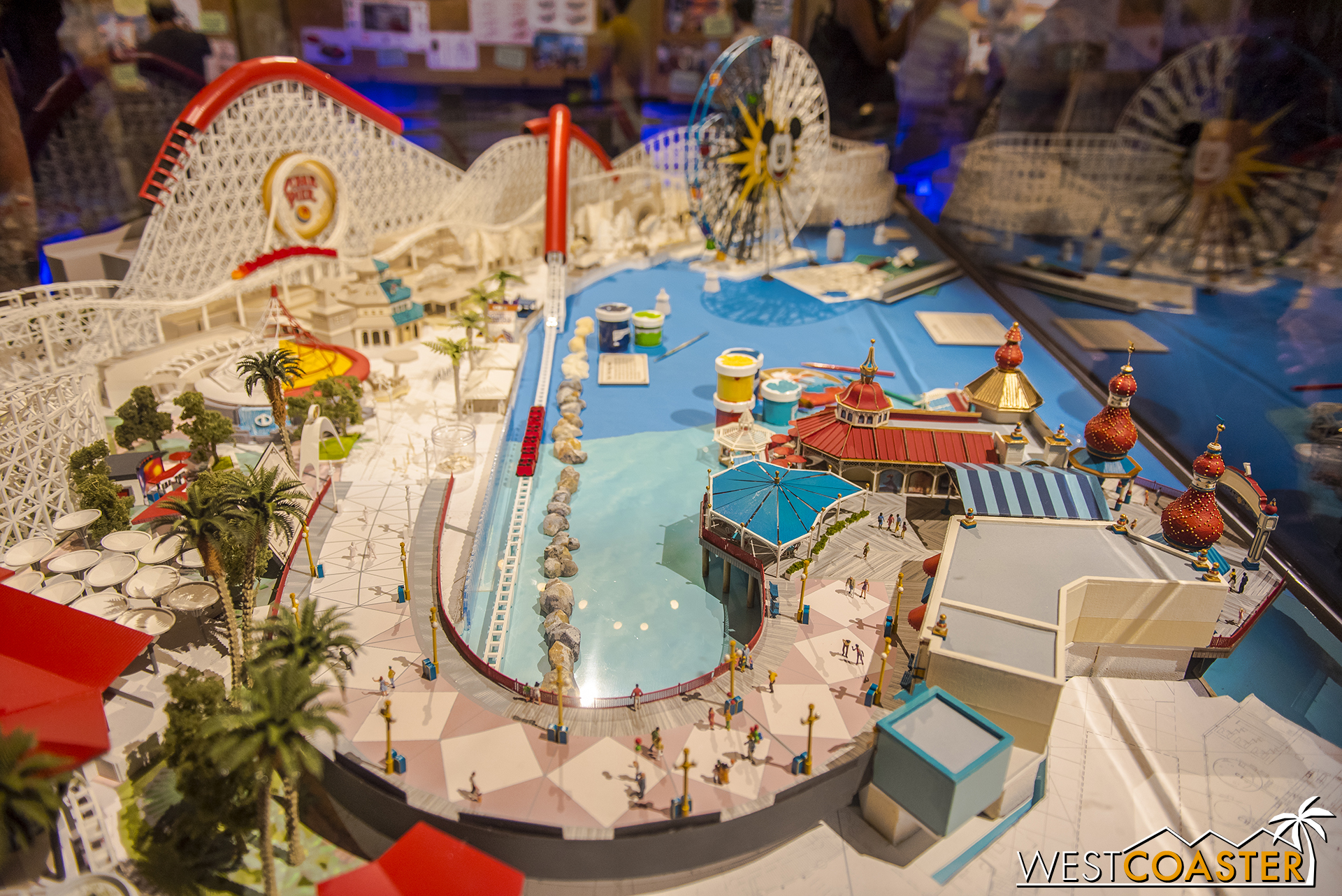 There is also an overall Pixar Pier site model.