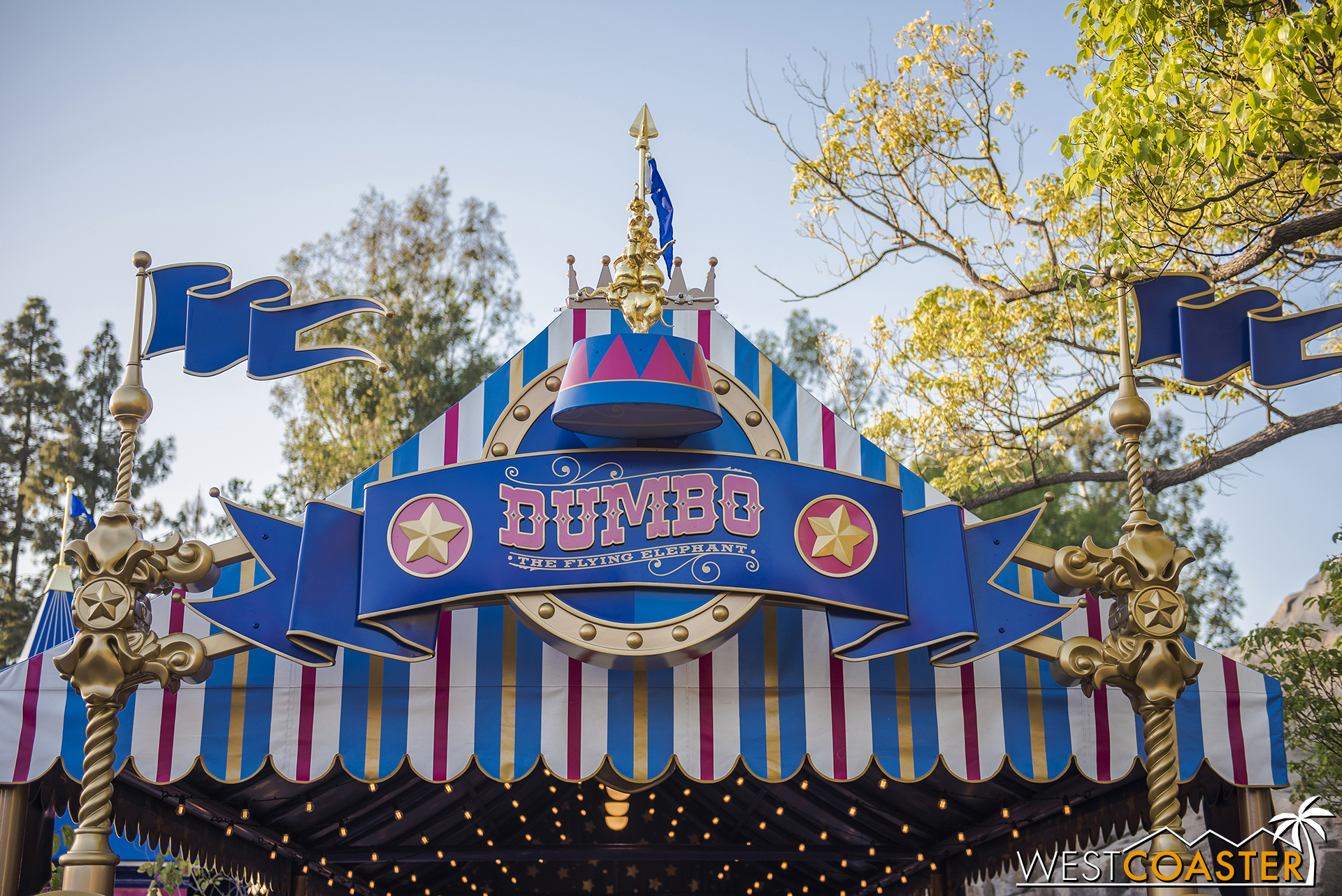 Behold… the digitally remastered Dumbo the Flying Elephant—actual ride edition!