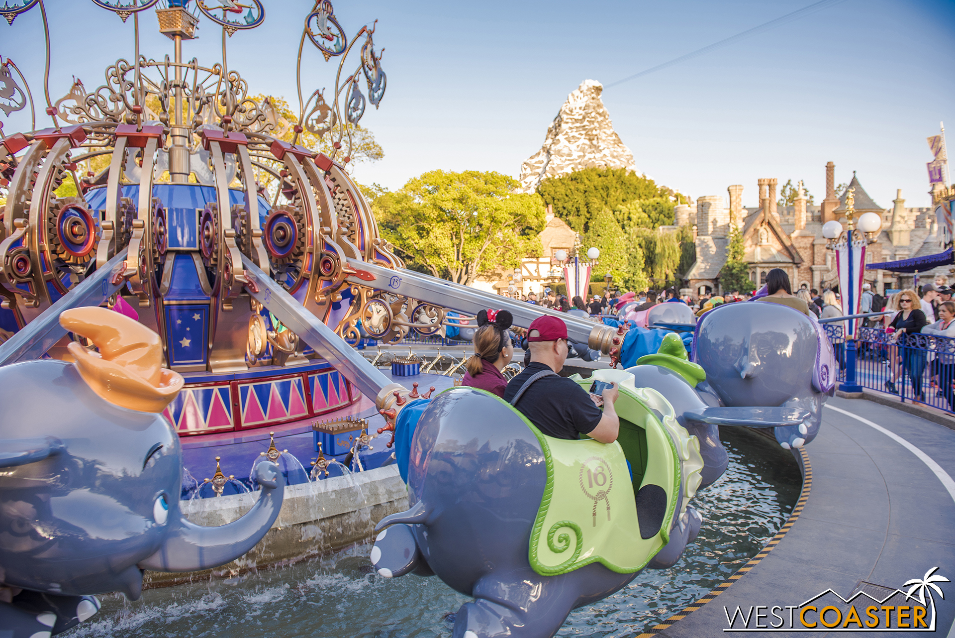 The ride looks great, and Dumbo's reopening means that once Pirates reopens later this month, all regular attractions at Disneyland Park are now back open to normal operating schedule!