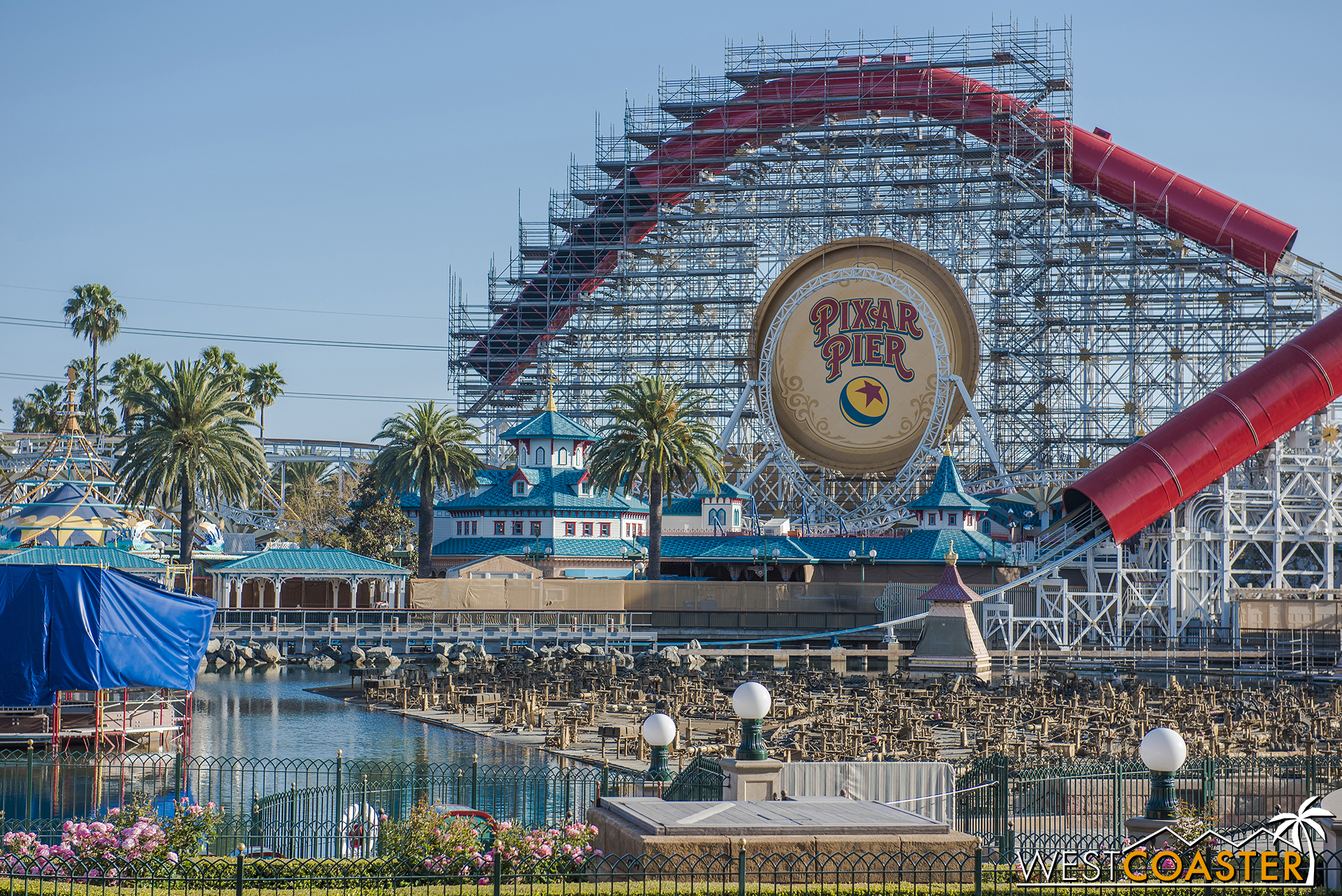 Check out the view across Paradise Bay.