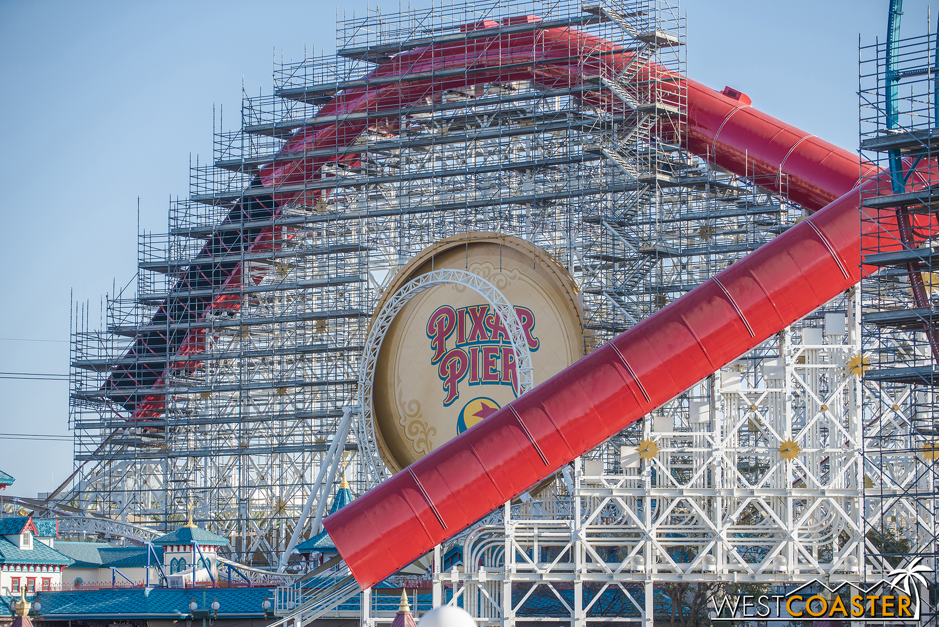 Here are a few close-up's of the Incredicoaster.