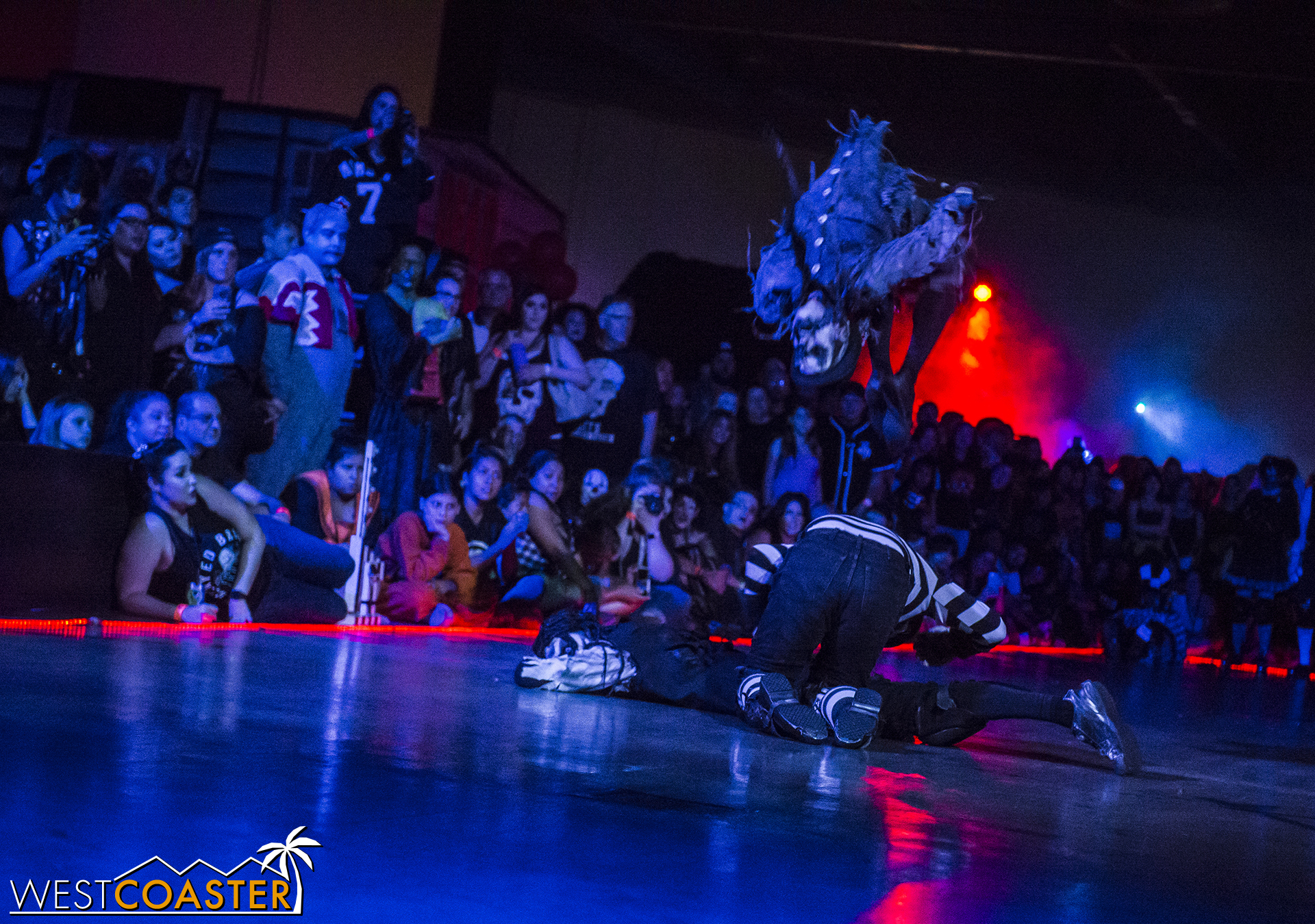The Decayed Brigade will perform amazing acrobatic feats in the Hall of Shadows once again this year.