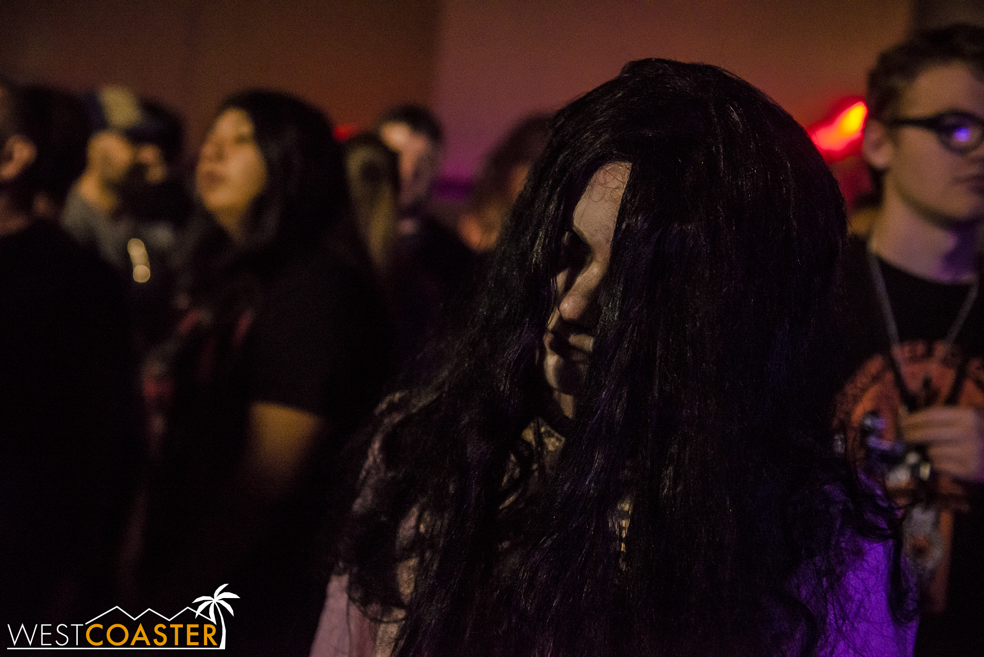 Mable lurks with Mable's 6 Feet Under at this year's Hall of Shadows.