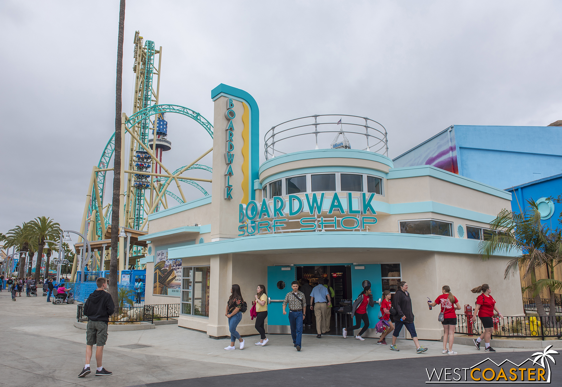 The Boardwalk Surf Shop is now open for business!