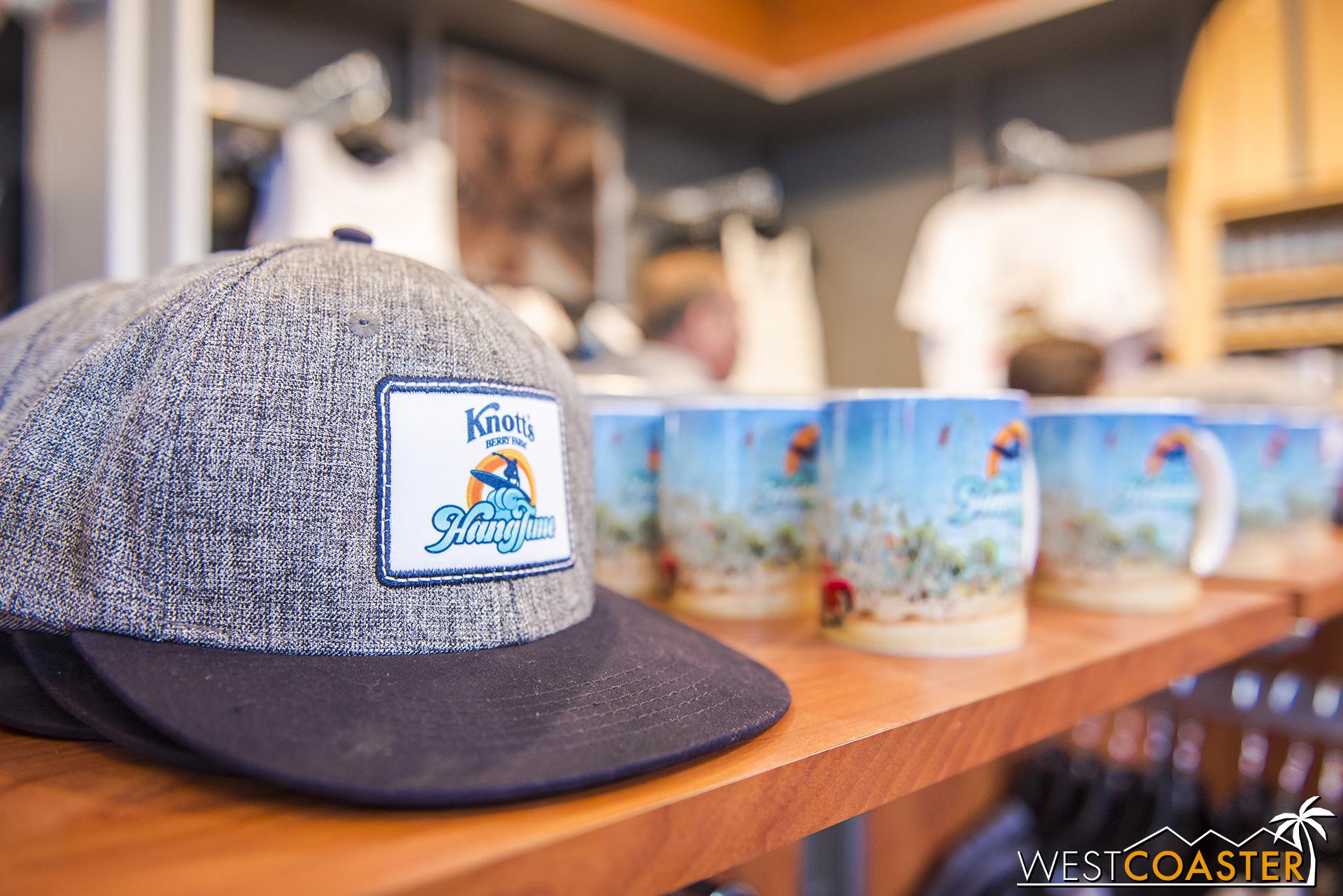 Caps and mugs too.