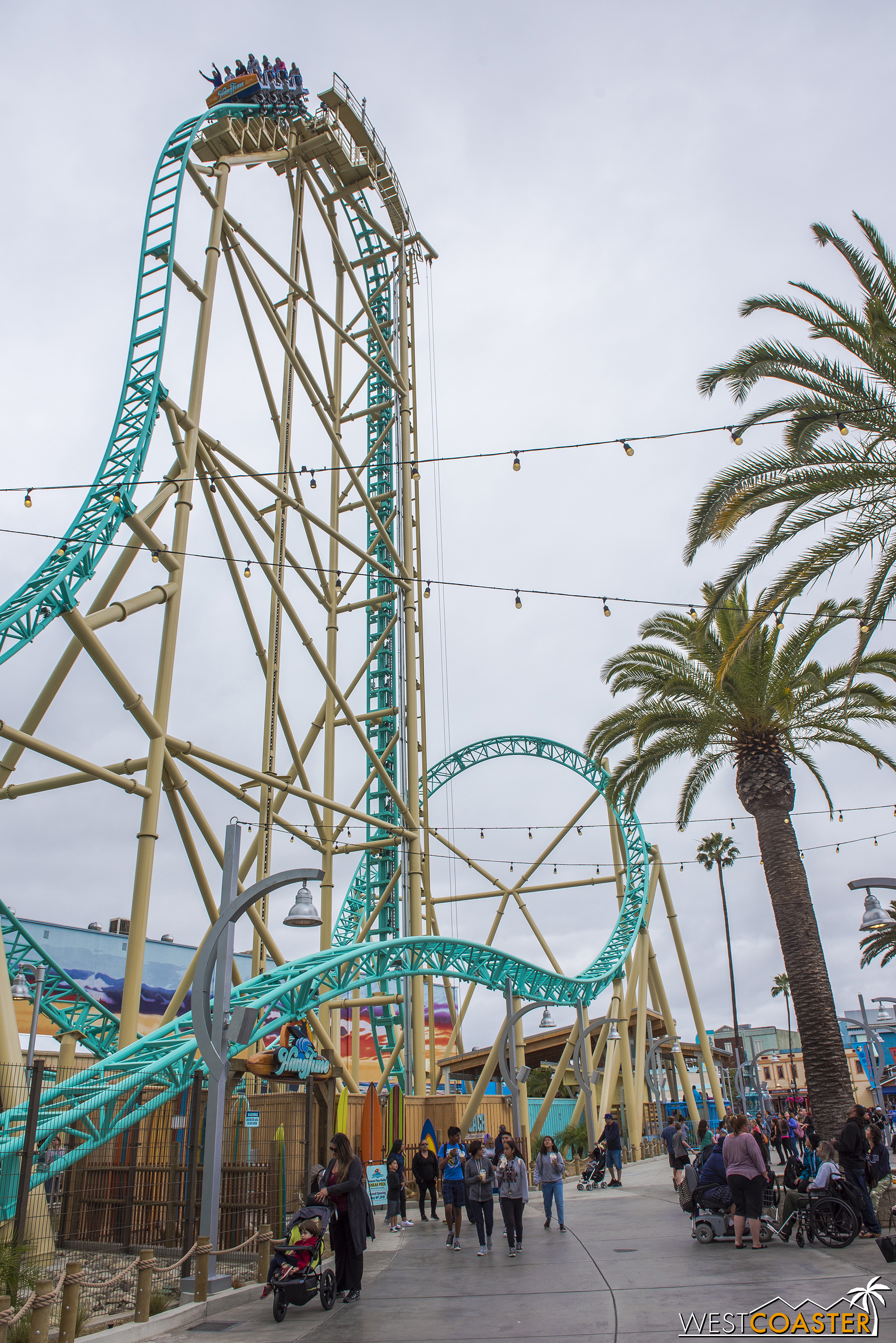 The day was crummy, but the ride looks nice!