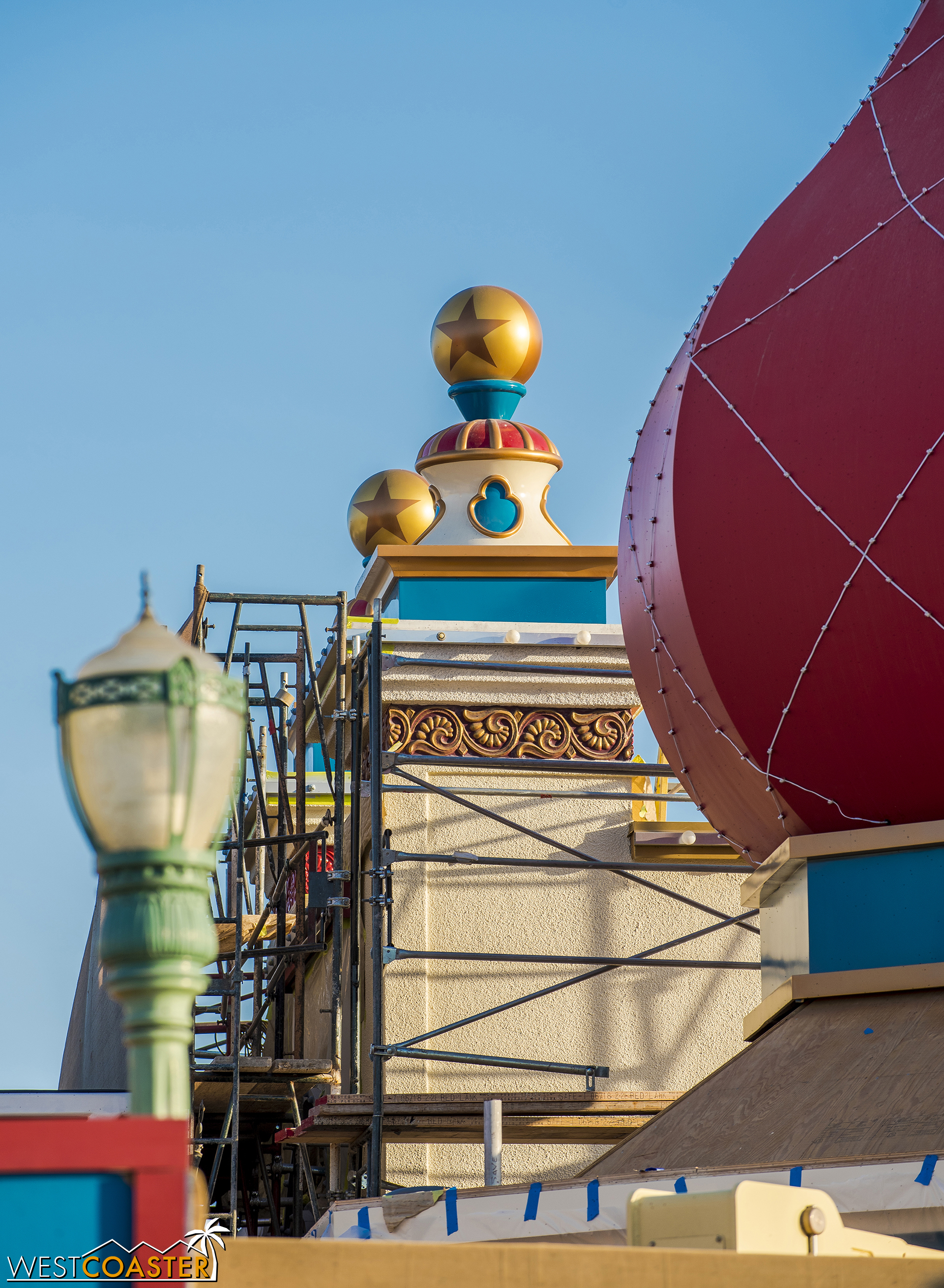 The details atop the building are cute.