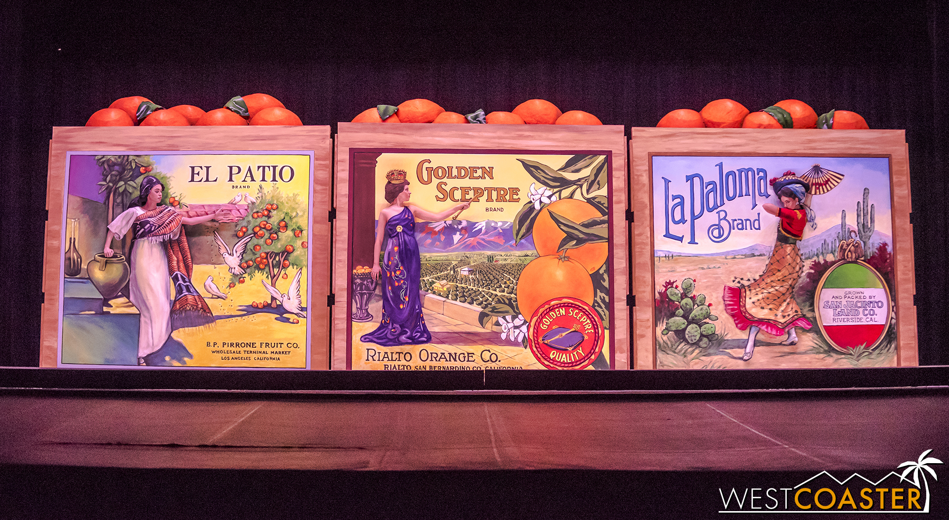 The Orange Crate Labels.