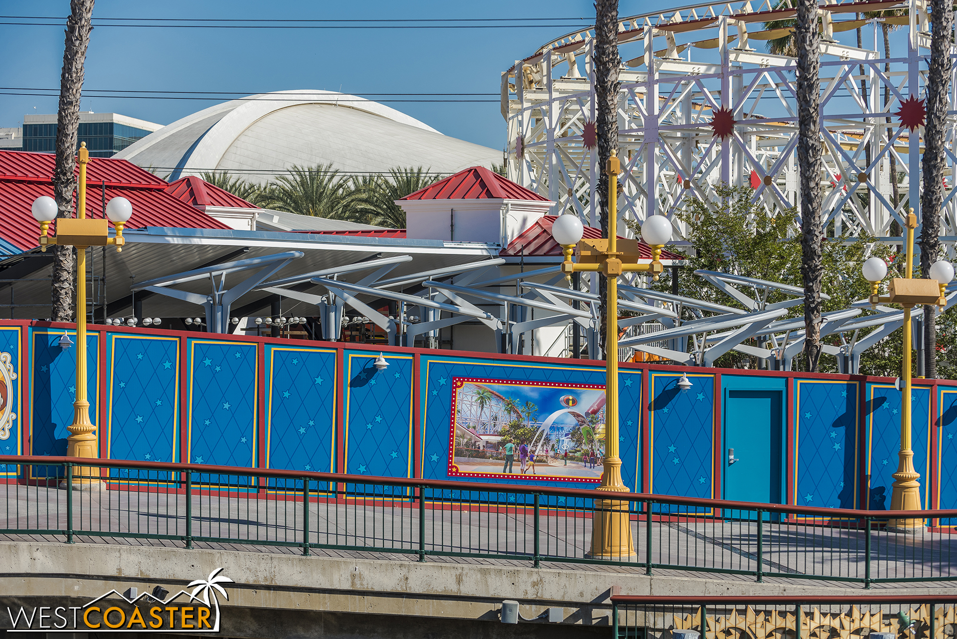 New shade structures in the queue…