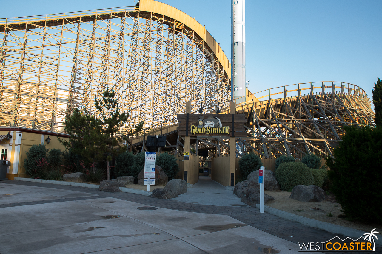 CGA really is a good looking park, and it's only getting better.