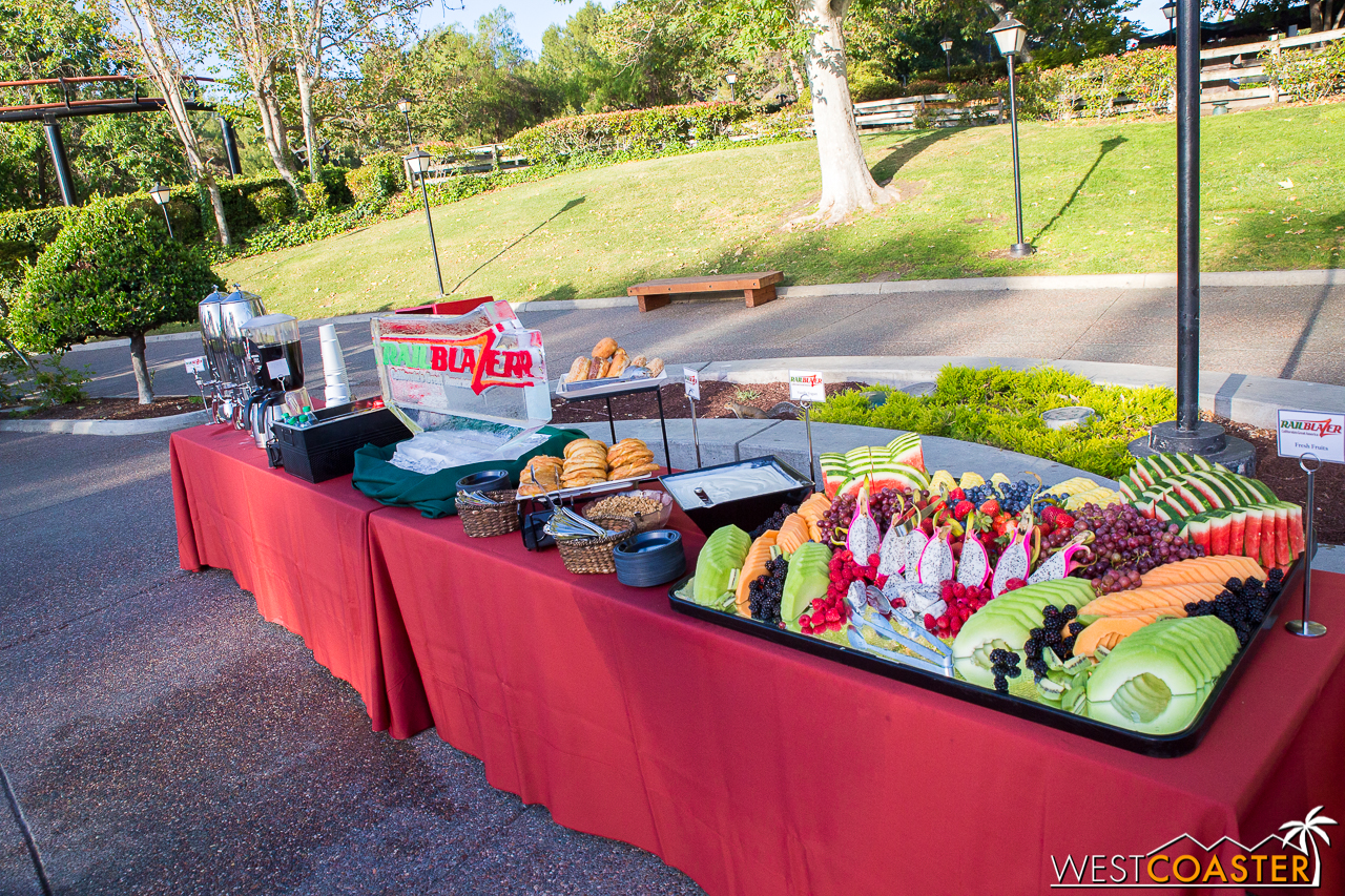 CGA always has quality food at their events. Like, there hasn't been bad food ever here.